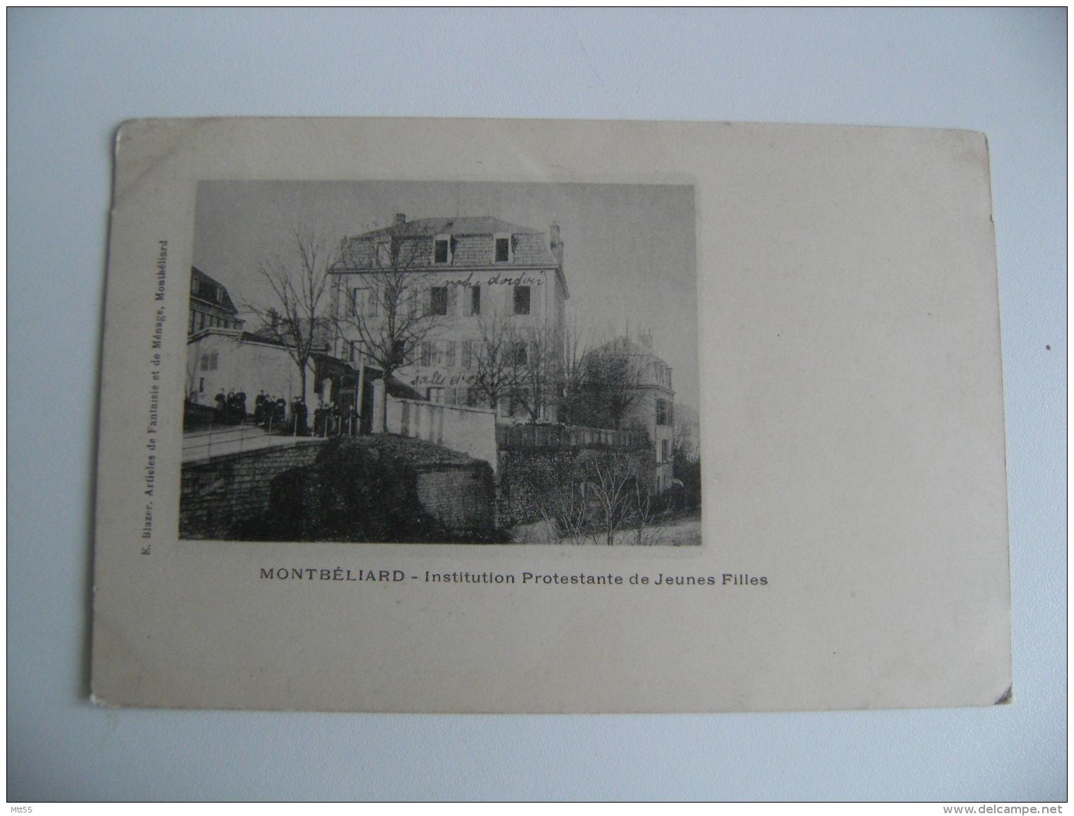 Montbeliard Institution Protestante De Jeunes Filles - Montbéliard