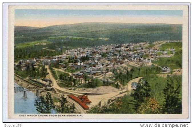 East MAUCH CHUNK From Bear Mountain - United States