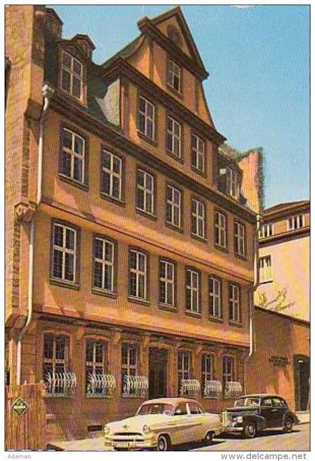 Frankfurt   H669      Goethehaus - Frankfurt A. Main