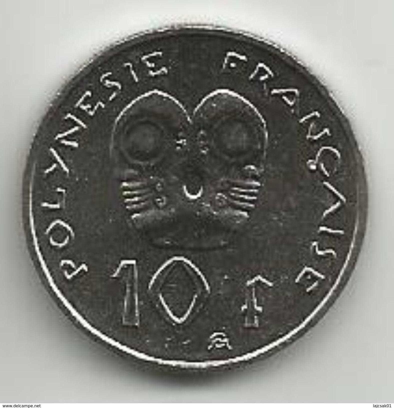 French Polynesia 10 Francs 2003. KM#8 - Polynésie Française
