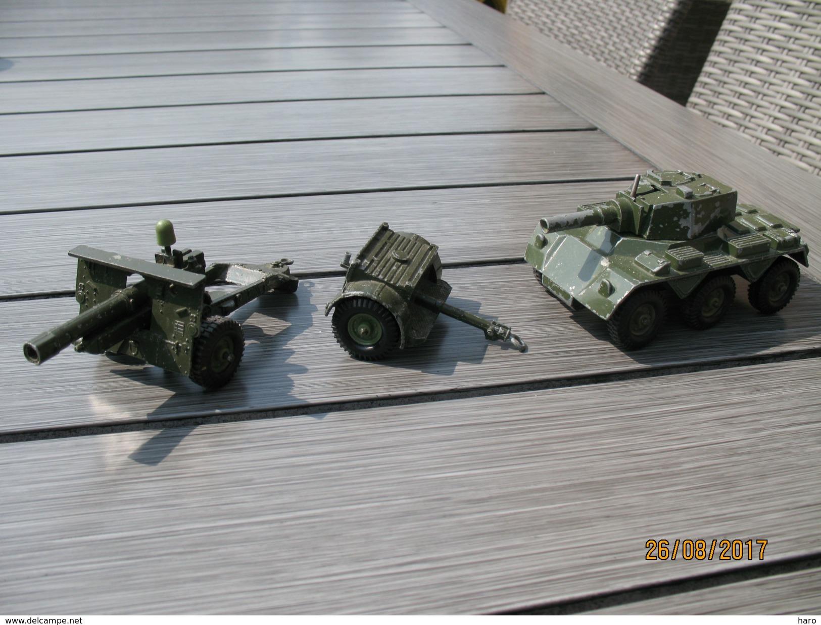 """Jouet - Véhicule Militaire """"LONE STAR """" Véhicule Blindé, Caisson à Munitions Et Canon - Toy Memorabilia"""