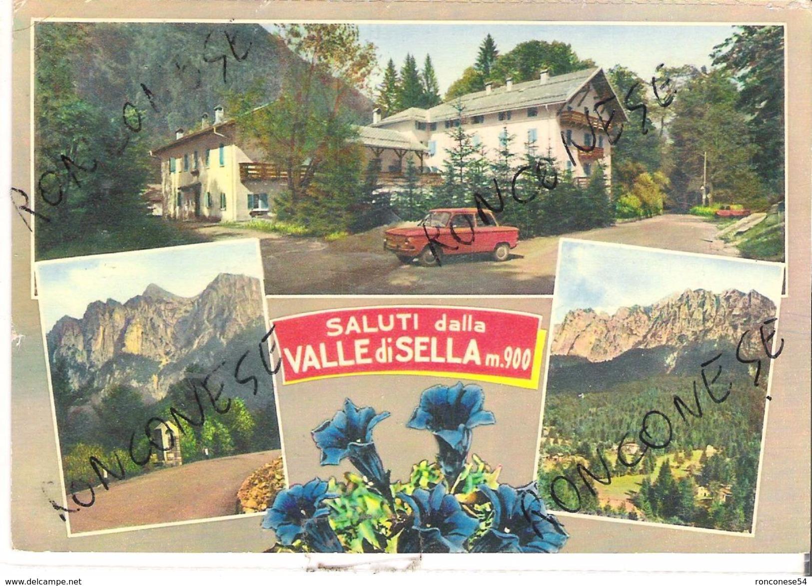 Borgo Valsugana, Valle Di Sella,    Anni 60,70    (72 - Trento