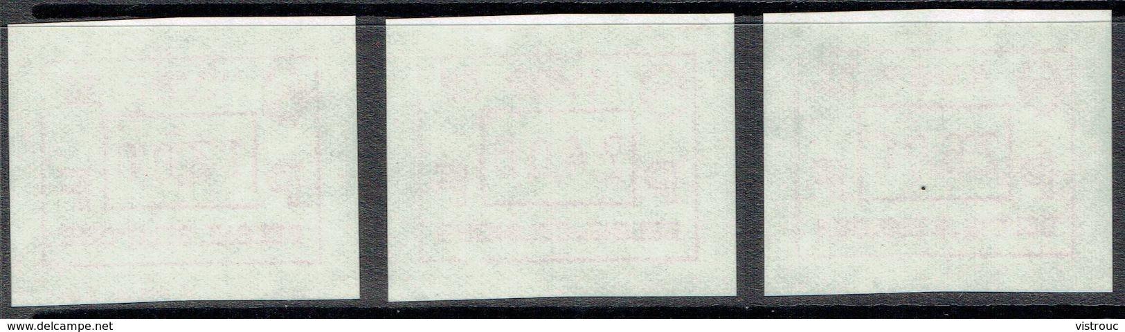 ATM 68 ** - 3 Vignettes - K.V.B.P. 1988. - Moins De 20 % De La Cote C.O.B.. - Vignettes D'affranchissement