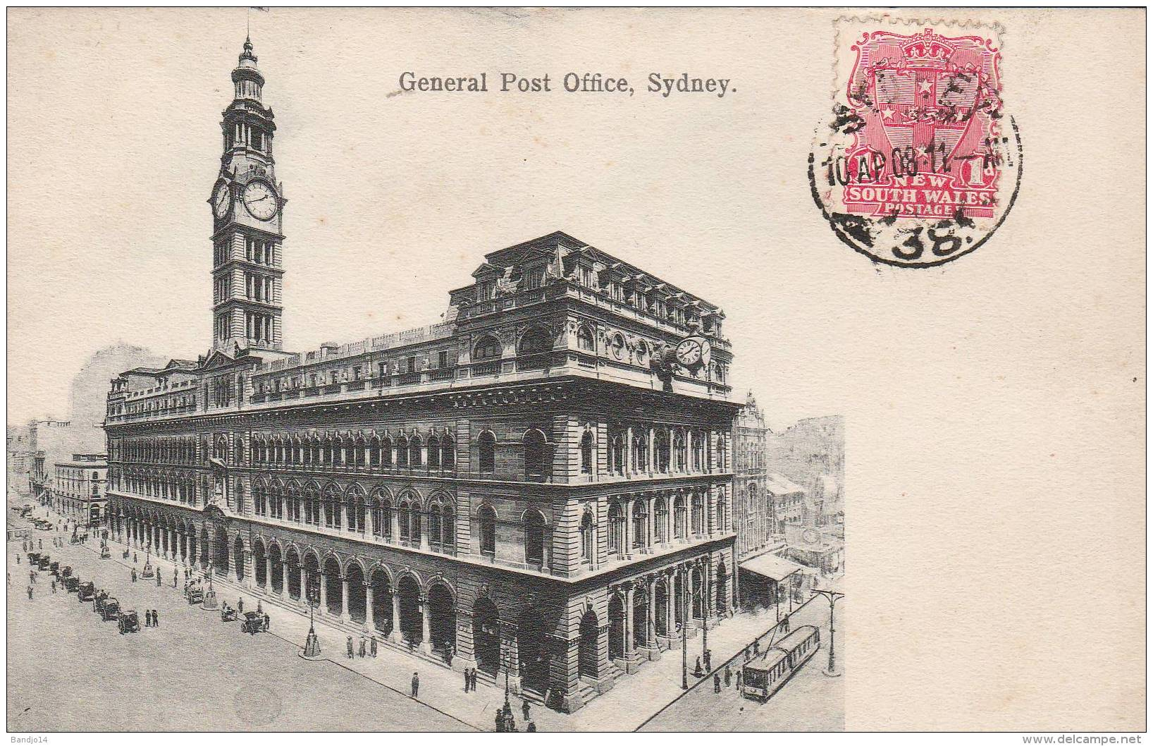 Sydney  General Post Office   - 2 Scan - Sydney