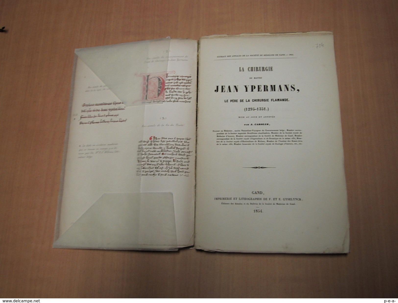 Ieper - Ypres / La Chirurgie De Maître Jean Ypermans - Libros, Revistas, Cómics