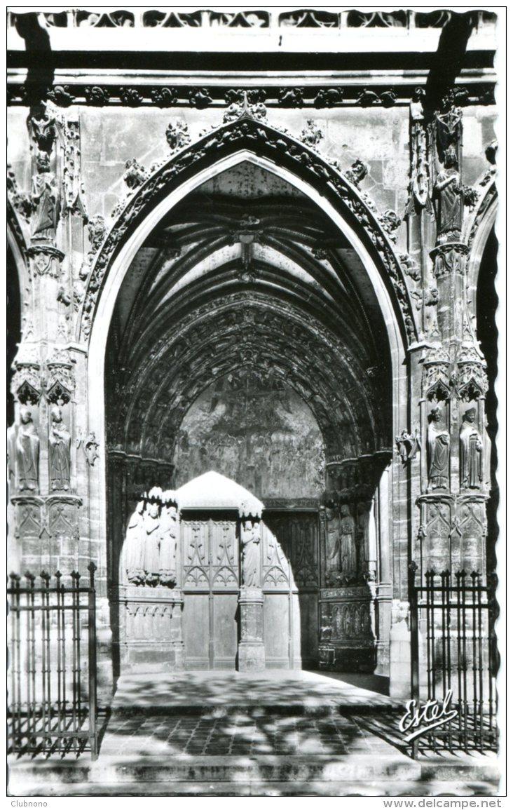CPSM -  PARIS - EGLISE SAINT-GERMAIN-L'AUXERROIS - PORTAIL CENTRAL - Eglises