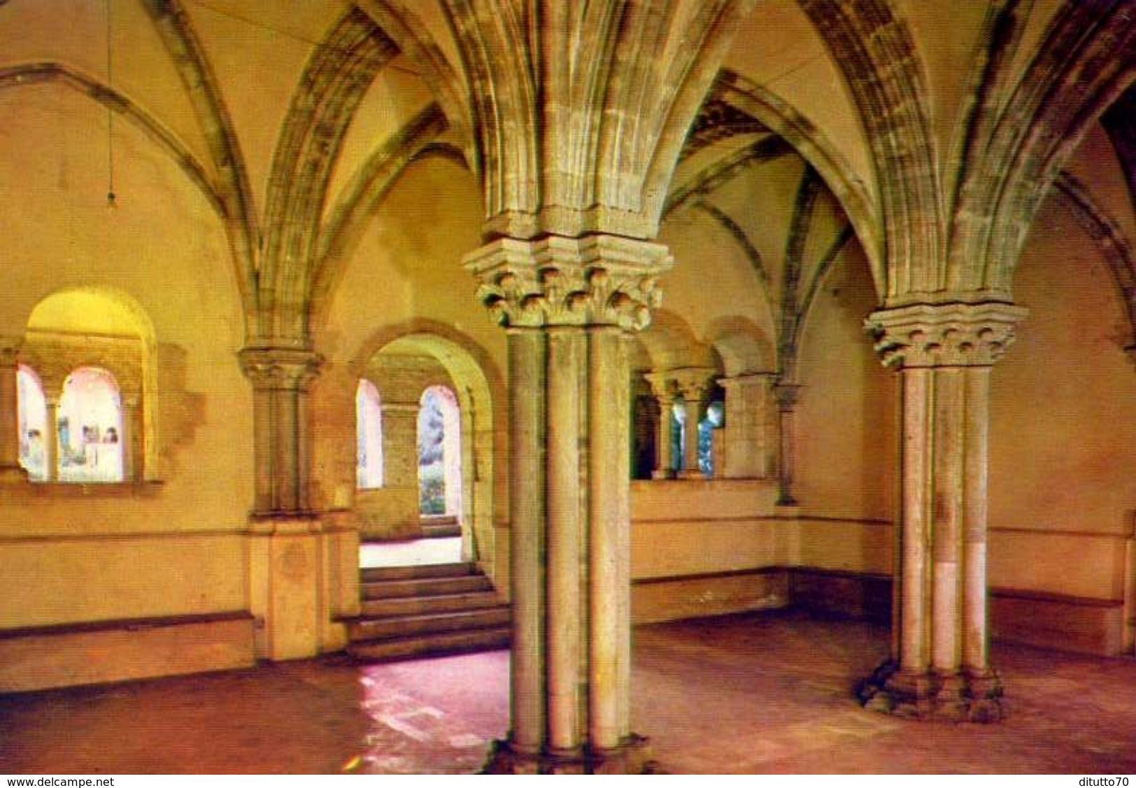 Abbazia Di Fossanova - Priverno - Latina - La Sala Capitolare - 2204 - Formato Grande Non Viaggiata – Ar - Latina