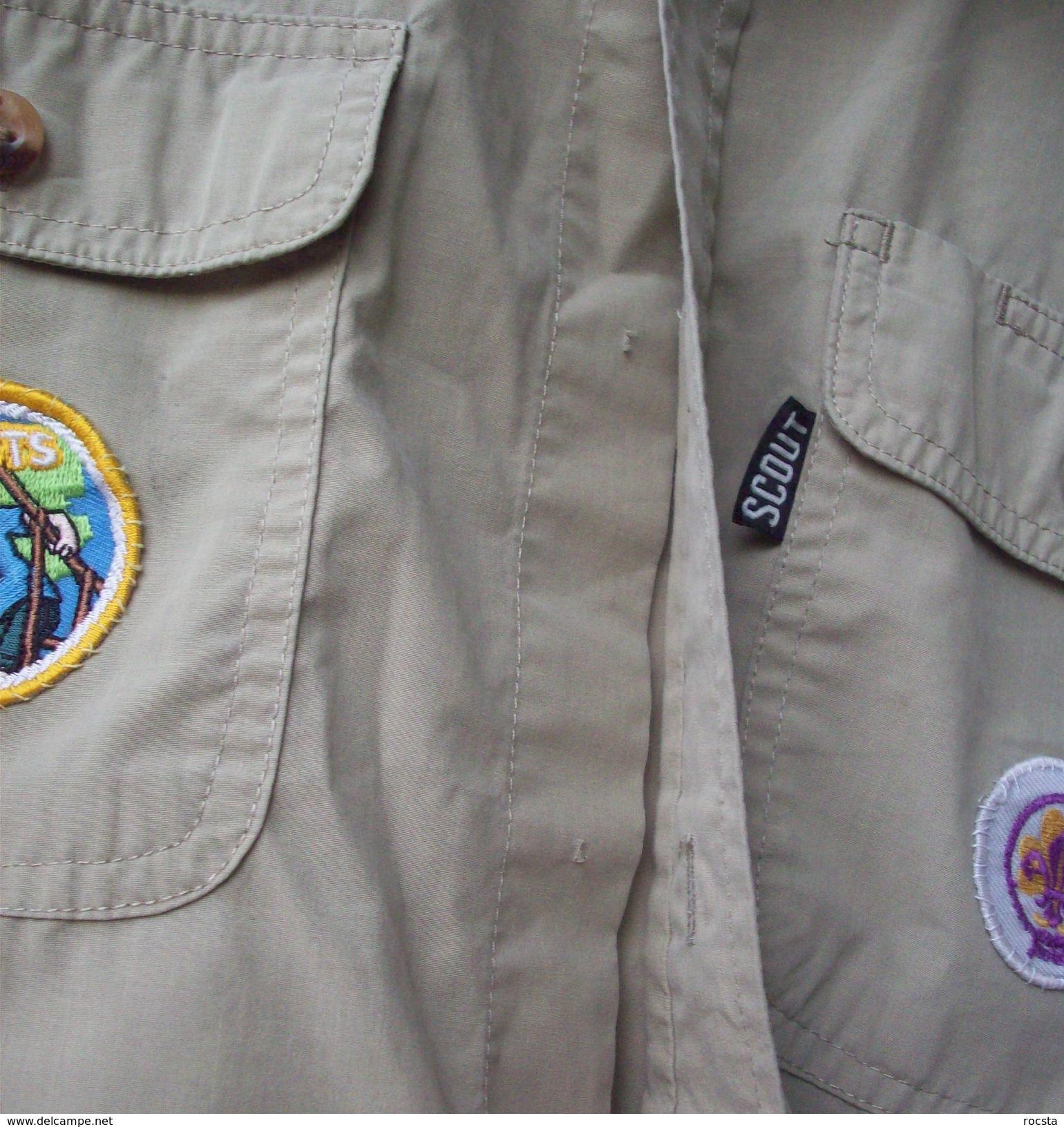 Netherlands Scout Shirt - 3 Patches - Padvinderij
