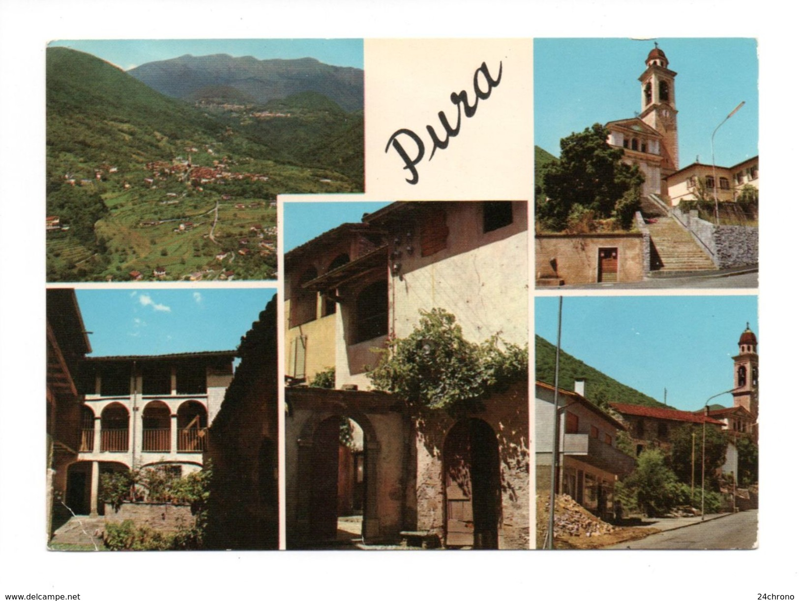 Suisse: Pura, Malcantone, Negozio Ermanno Rossinotti (17-1564) - TI Tessin