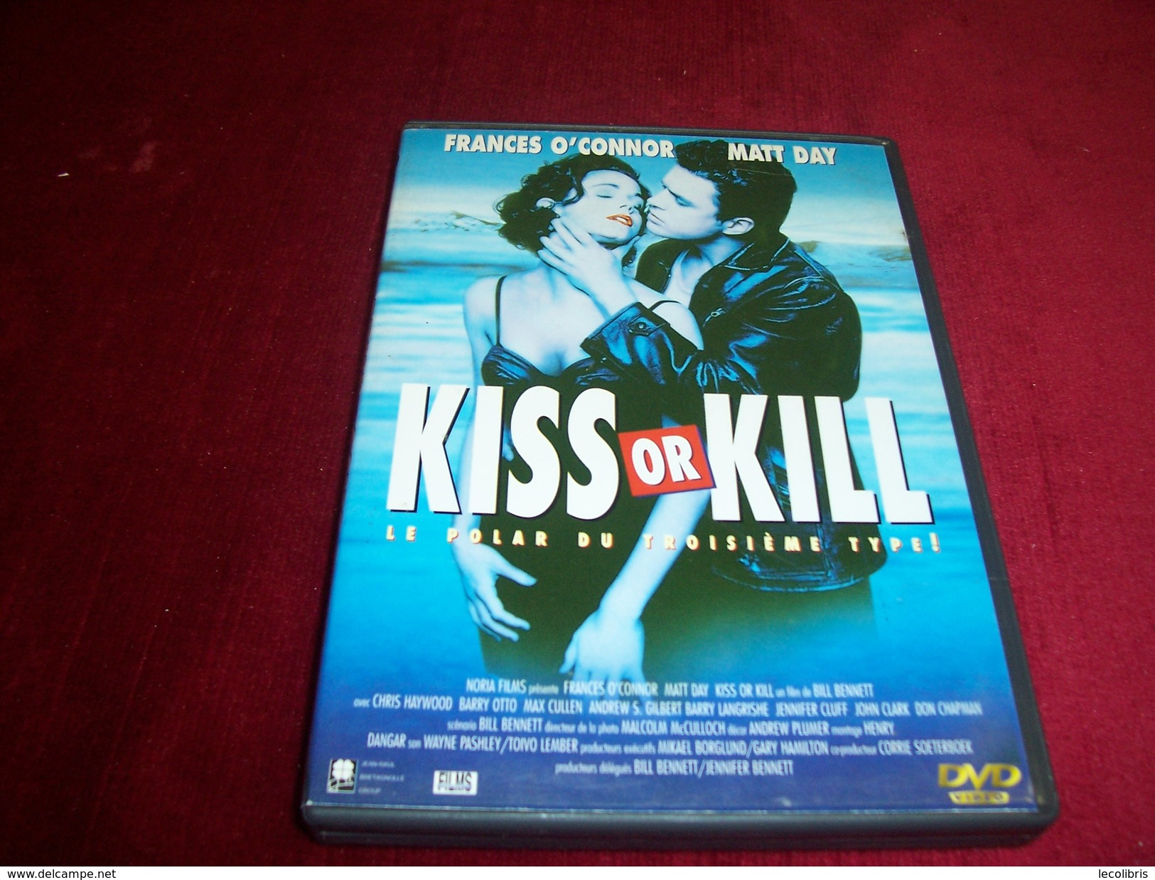 KISS OR KILL  AVEC FRANCES O'CONNOR  ET MATT DAY - Policiers