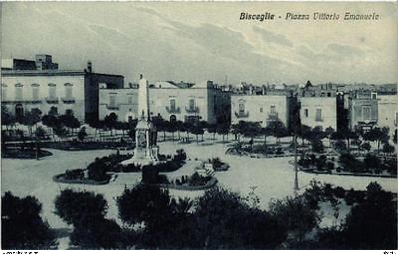 CPA BISCEGLIE Piazza Vittorio Emanuele . ITALY (531688) - Italia