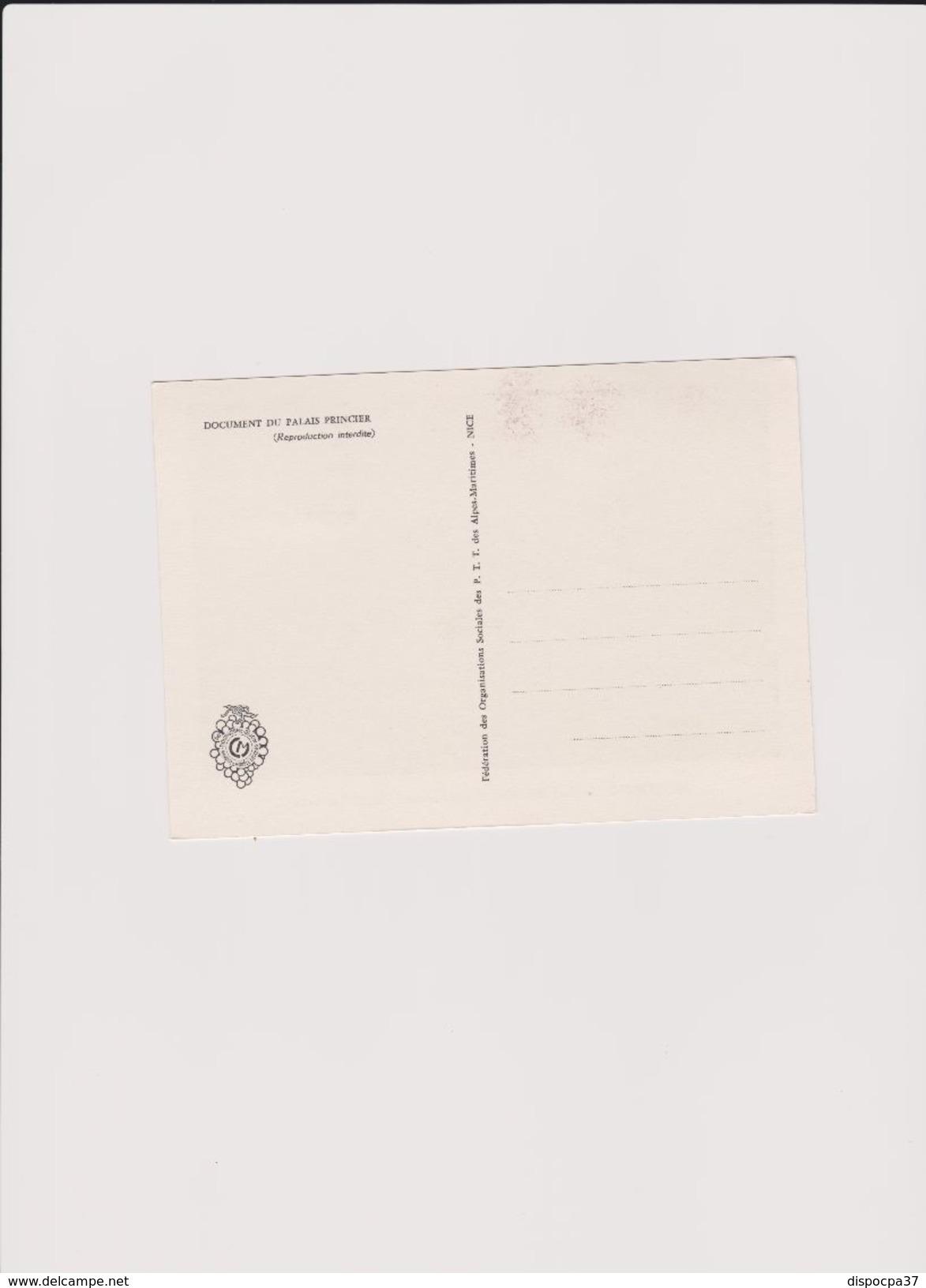 CARTE MAXIMUM 1er JOUR  01/02/1966- MONACO -  LE PALAIS PRINCIER AU XIX° SIECLE - Y&T   N° 680 - Maximum Cards