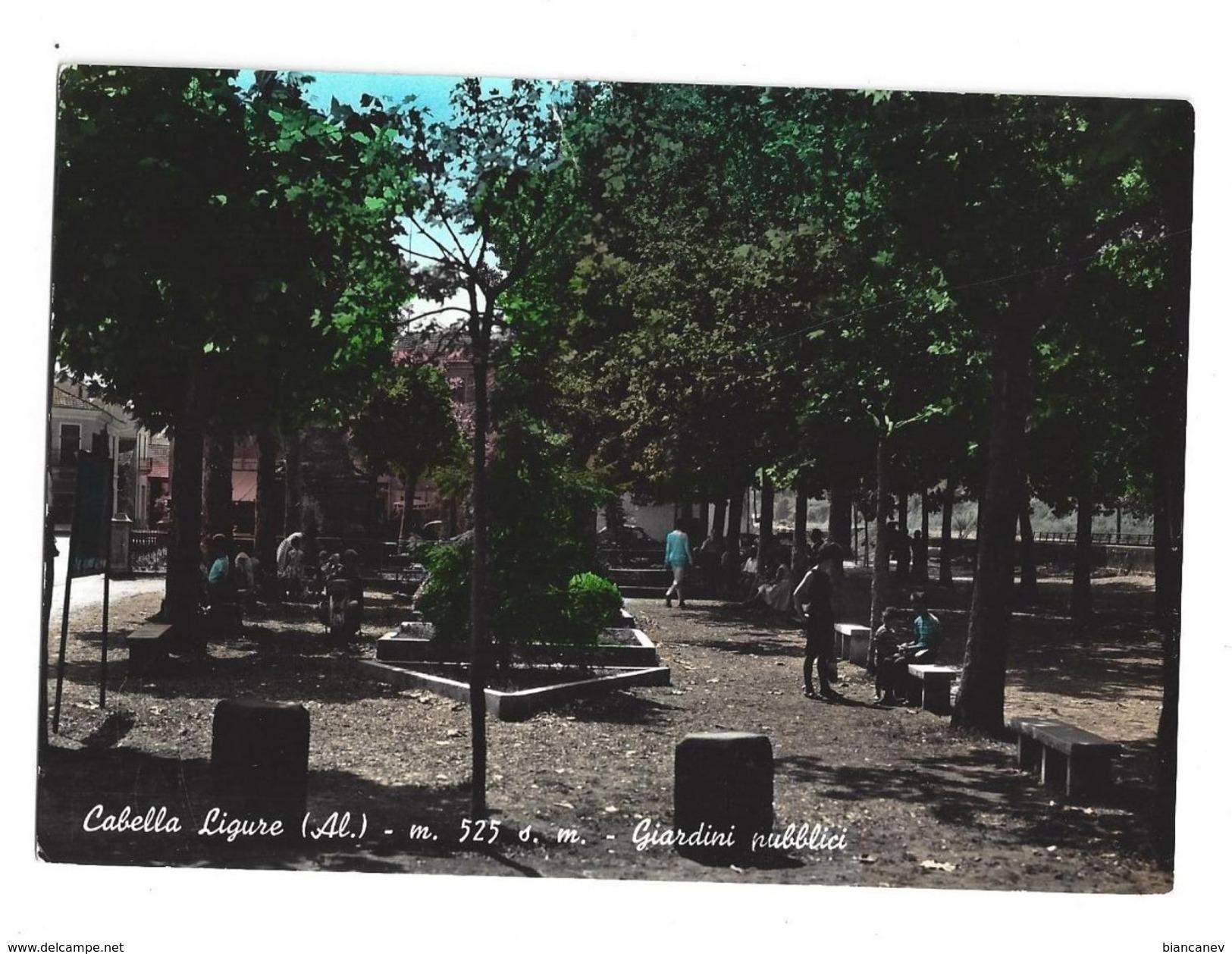 CARTOLINA DI CABELLA LIGURE - ALESSANDRIA - 1 - Alessandria