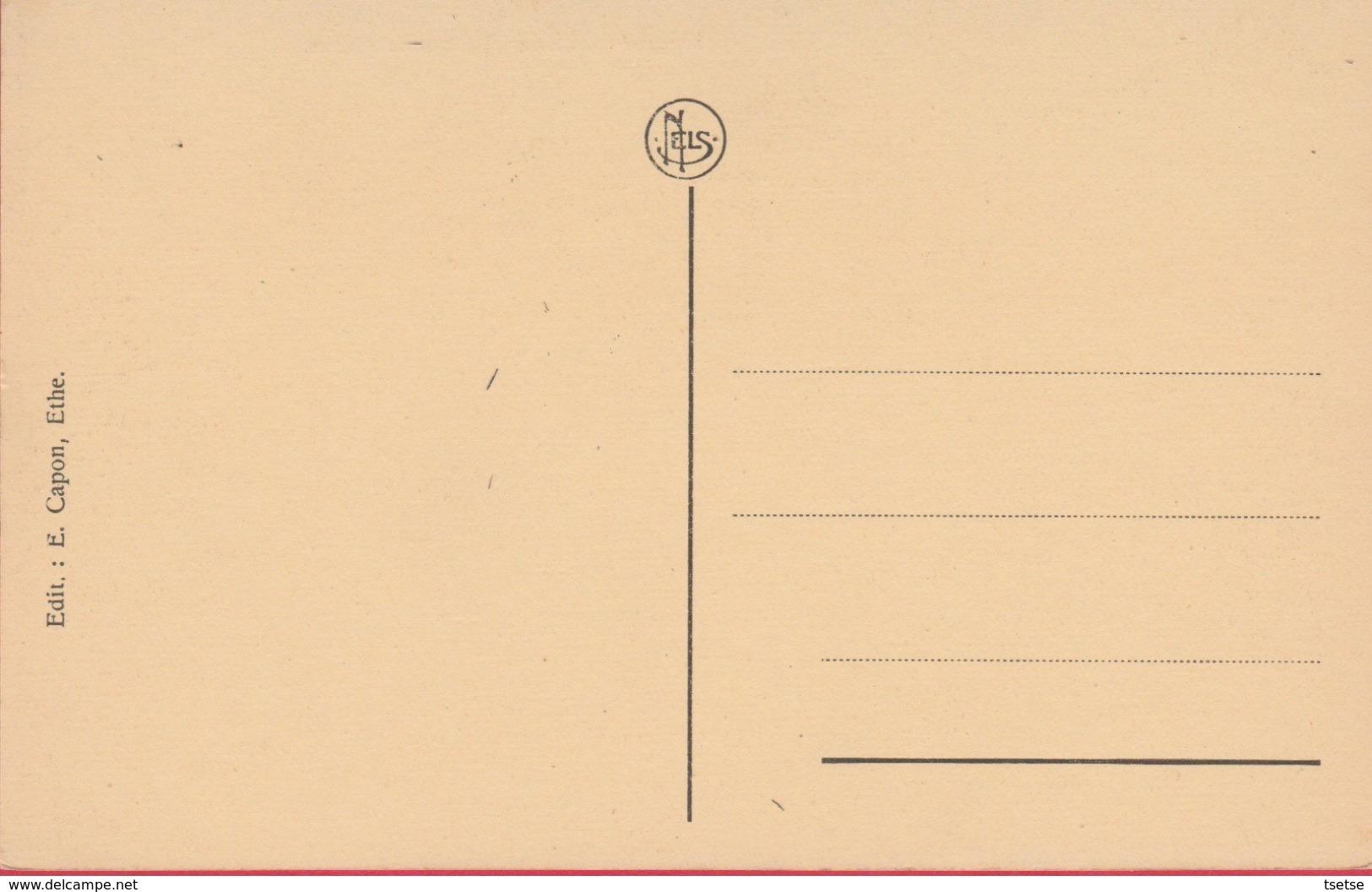 Ethe - Cimetière Militaire Laclaireau - Tombes Des Officiers ( Voir Verso ) - Virton