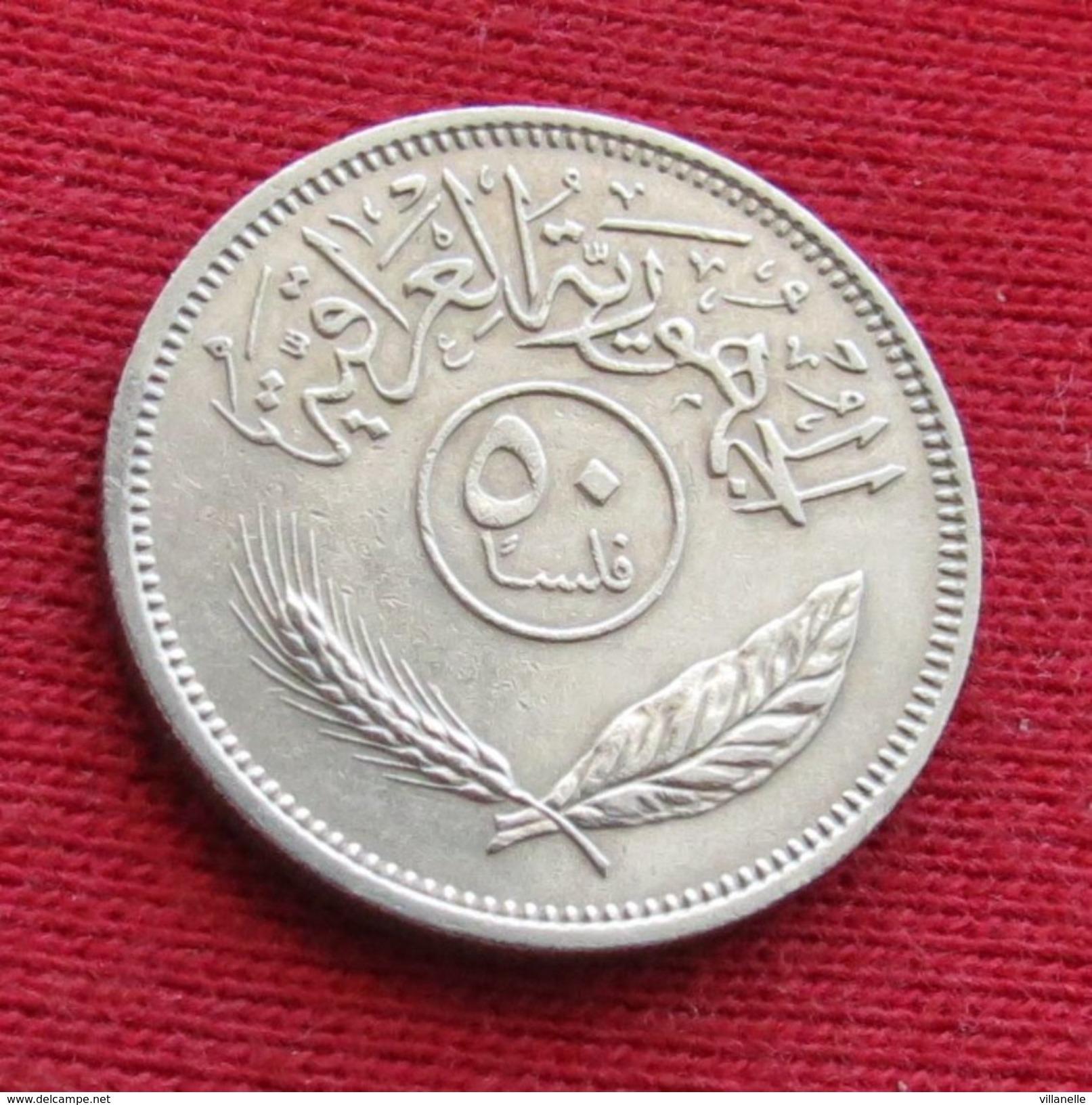 Iraq 50 Fils 1970 KM# 128 Iraque Irak - Iraq