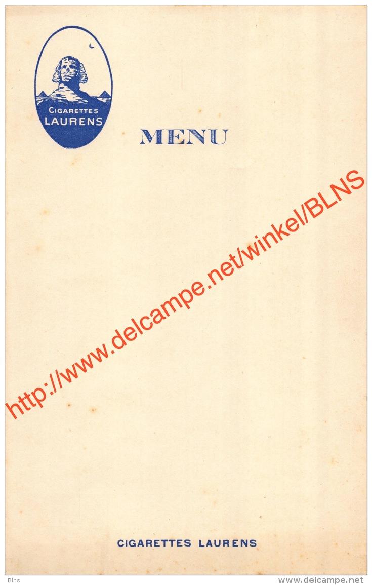 Cigarettes Laurens - Menu - 12x19cm - Autres
