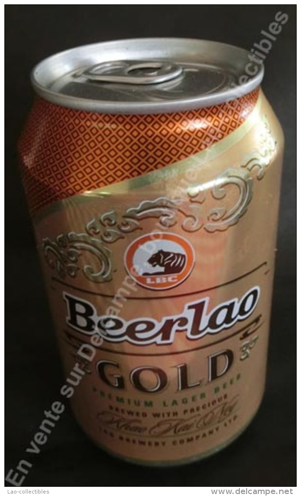 """Laos Cannette """"Beerlao"""" Gold - Cannettes"""
