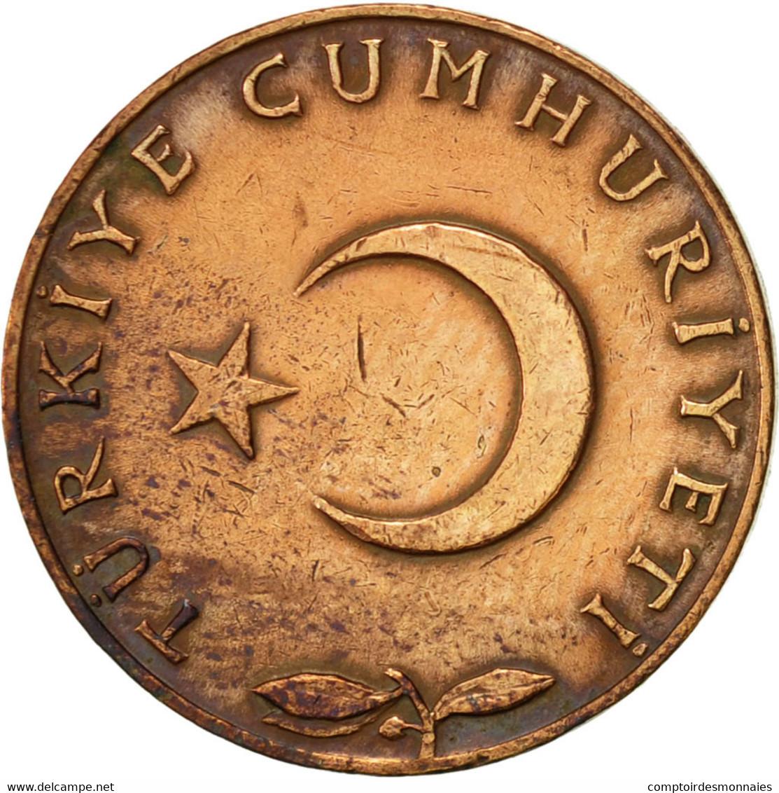 Turquie, 5 Kurus, 1970, TTB, Bronze, KM:890.2 - Turquie