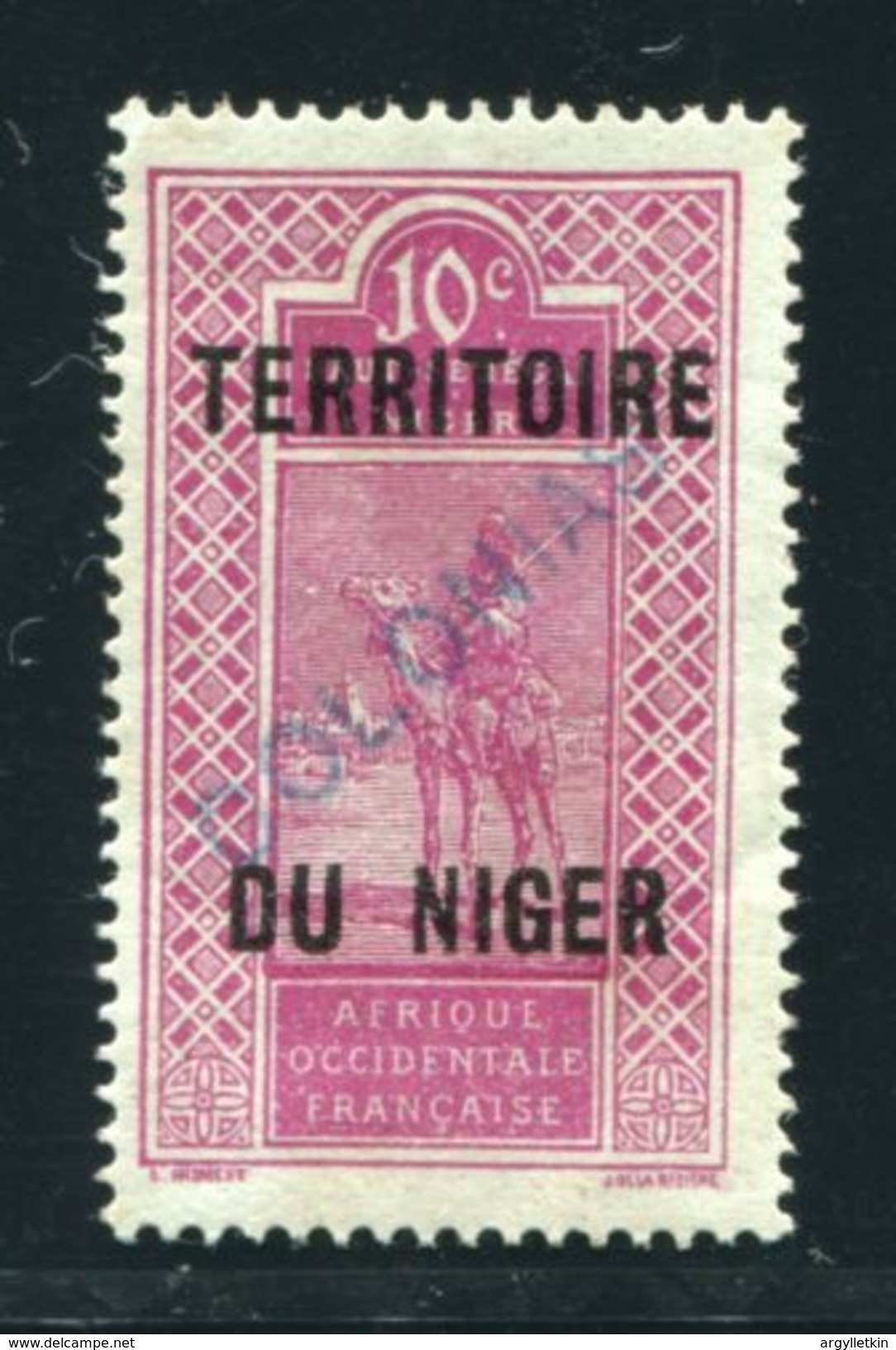 FRENCH NIGER SPECIMEN SPANISH COLONIES - Niger (1921-1944)