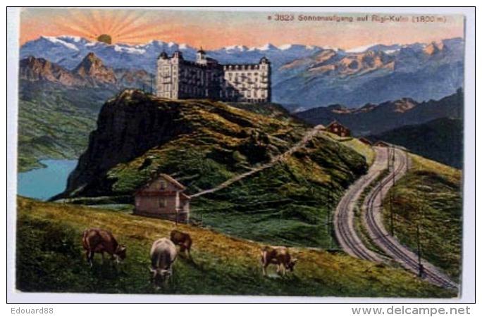 Sonnenaufgang Auf RIGI-KULM - SZ Schwyz