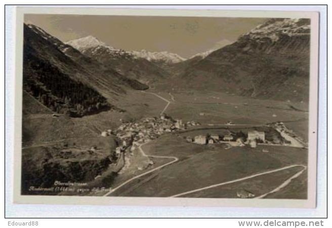 Oberalpstrasse ANDERMATT Gegen Die FURKA - UR Uri