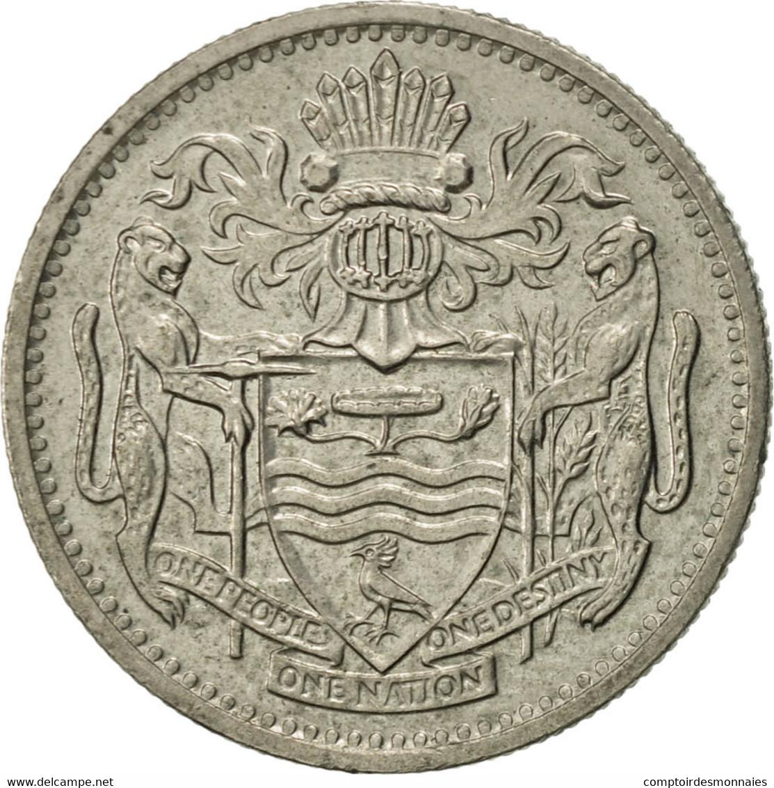 Guyana, 10 Cents, 1991, TTB+, Copper-nickel, KM:33 - Guyana