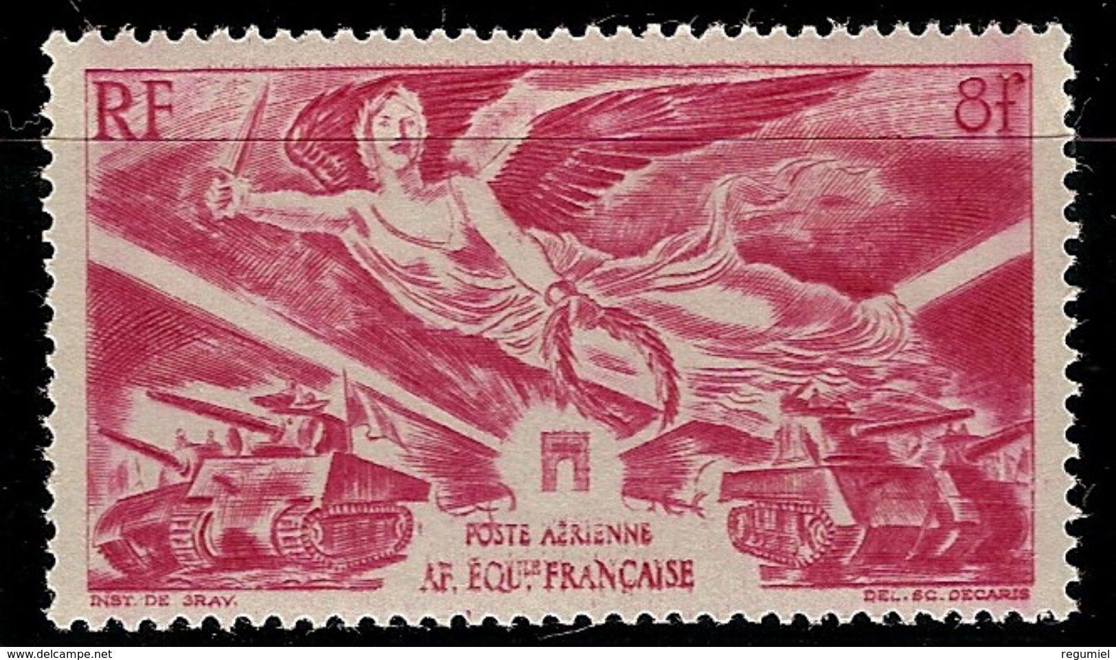 Africa Ecuatorial Francesa Aereo 43 ** MNH. 1946 - A.E.F. (1936-1958)