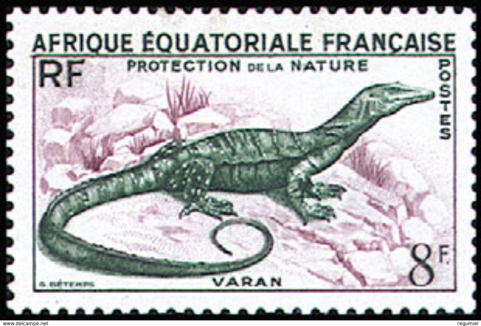 Africa Ecuatorial Francesa 231 ** MNH. 1955 - A.E.F. (1936-1958)