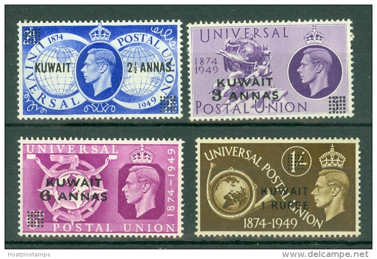 Kuwait: 1949   U.P.U.    MH - Koweït