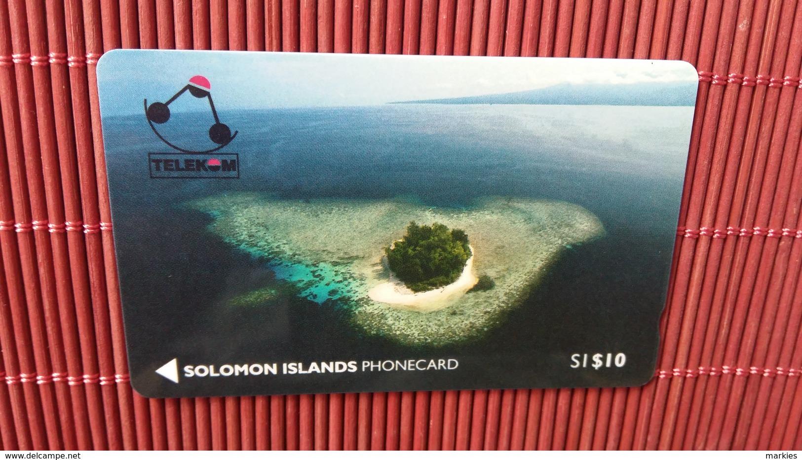 First Card Solomon Islands Number 01SIC (Mint,New) Rare - Solomoneilanden