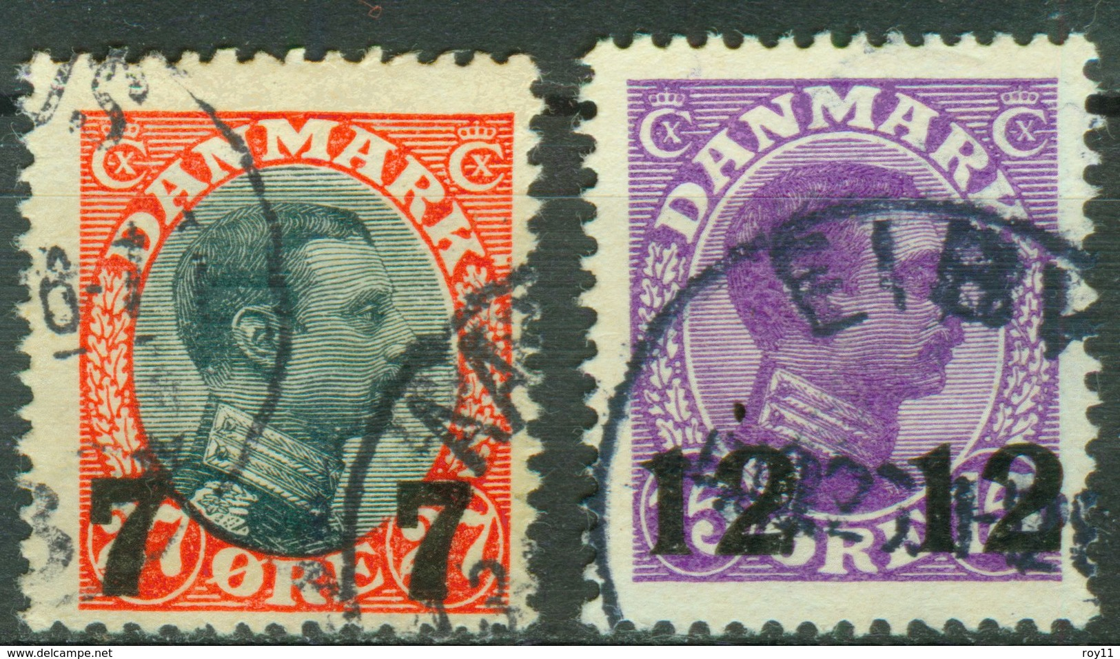 Nr. 157 -158 - Michel 15 € - Used Stamps