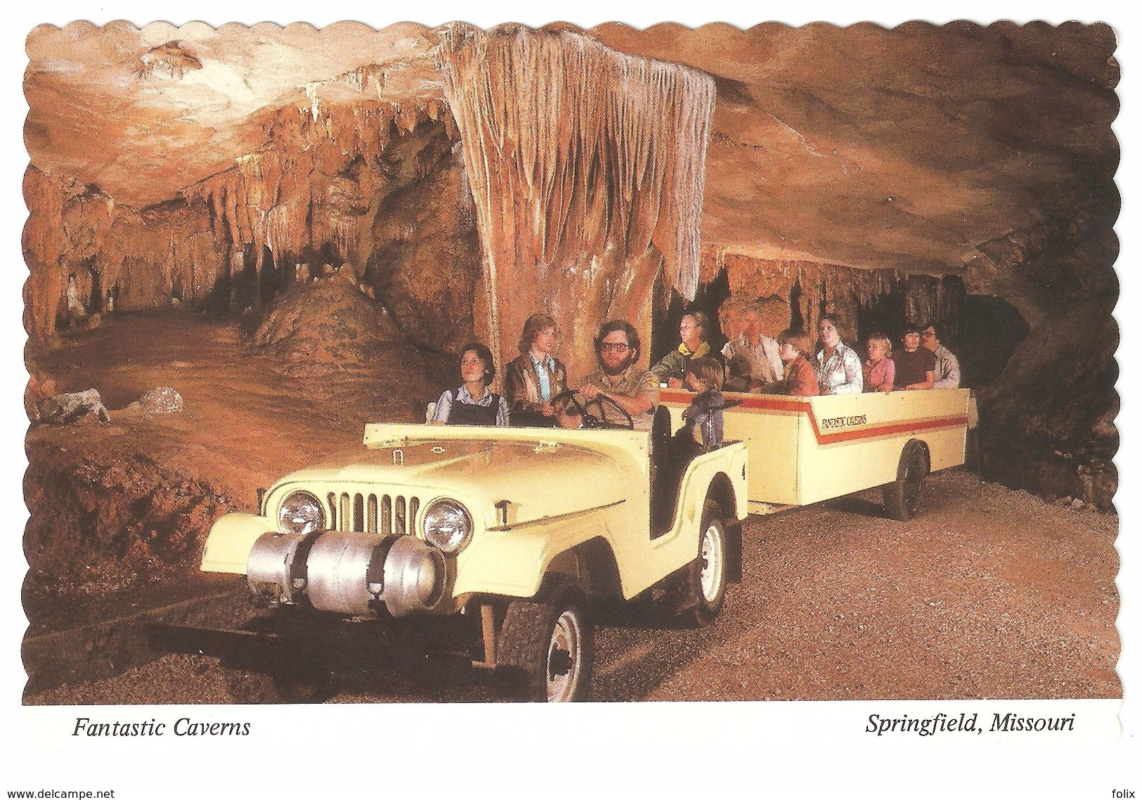 Springfield - Missouri - Fantastic Caverns - Springfield – Missouri