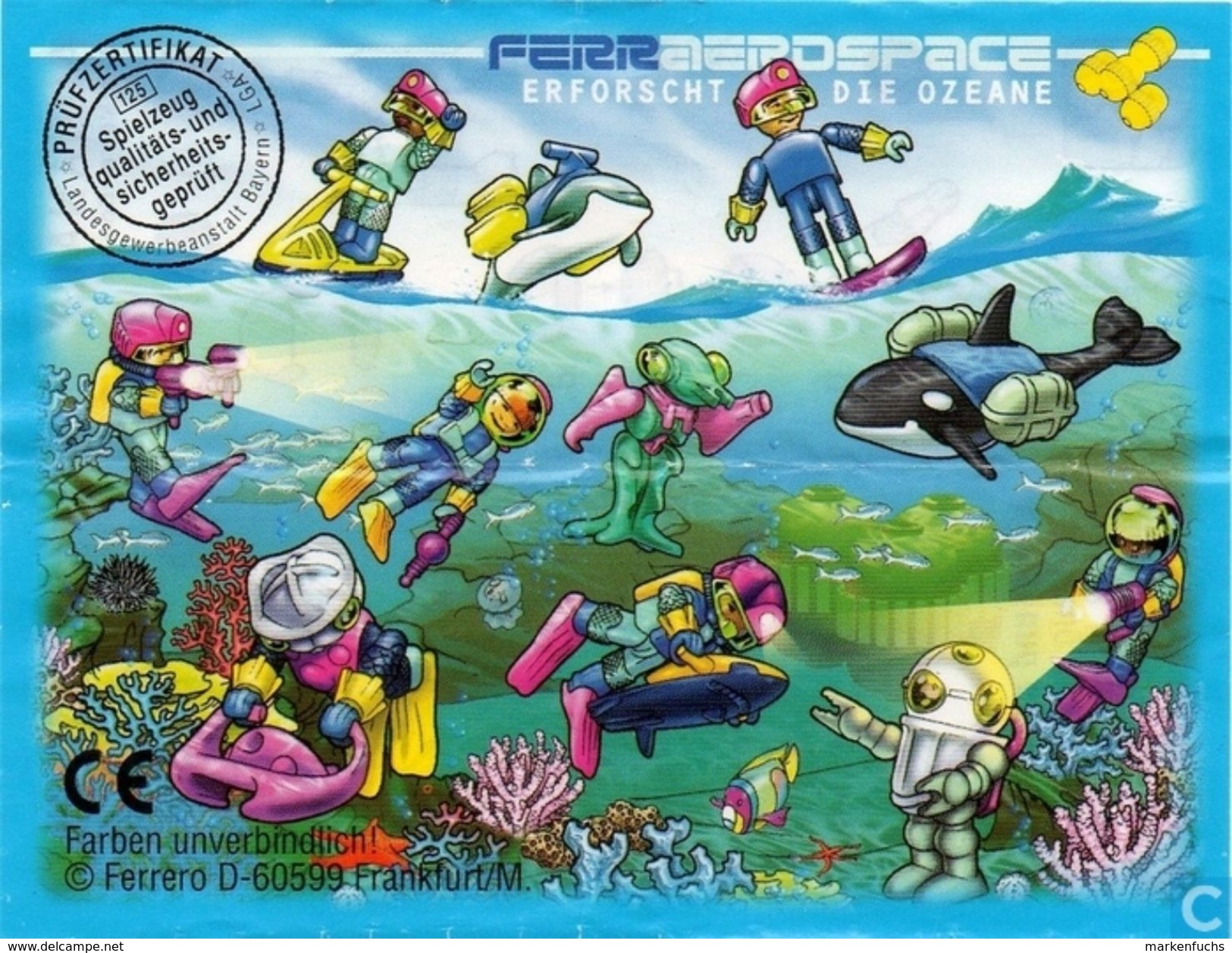Ferraerospace Ozean 1998 / Schwertwal + BPZ - Maxi (Kinder-)