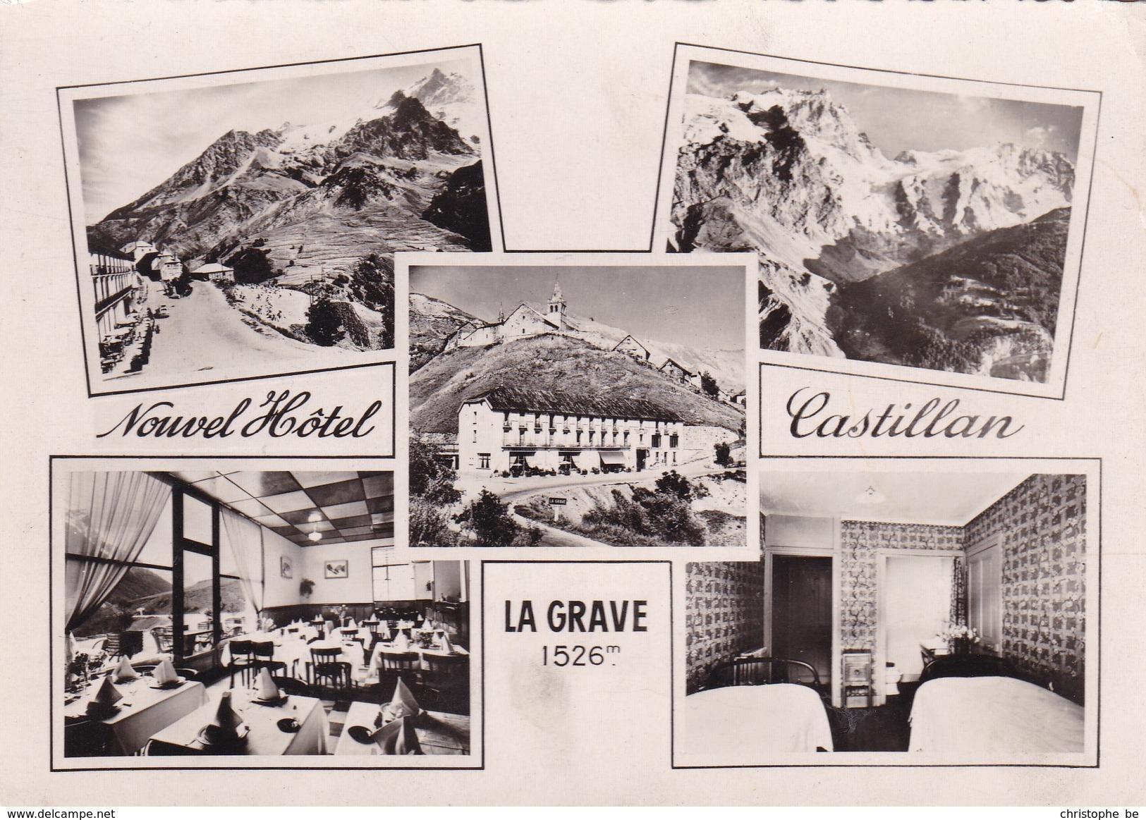 CPA Nouvel Hotel Castillan, La Grave (pk37906) - Frankreich