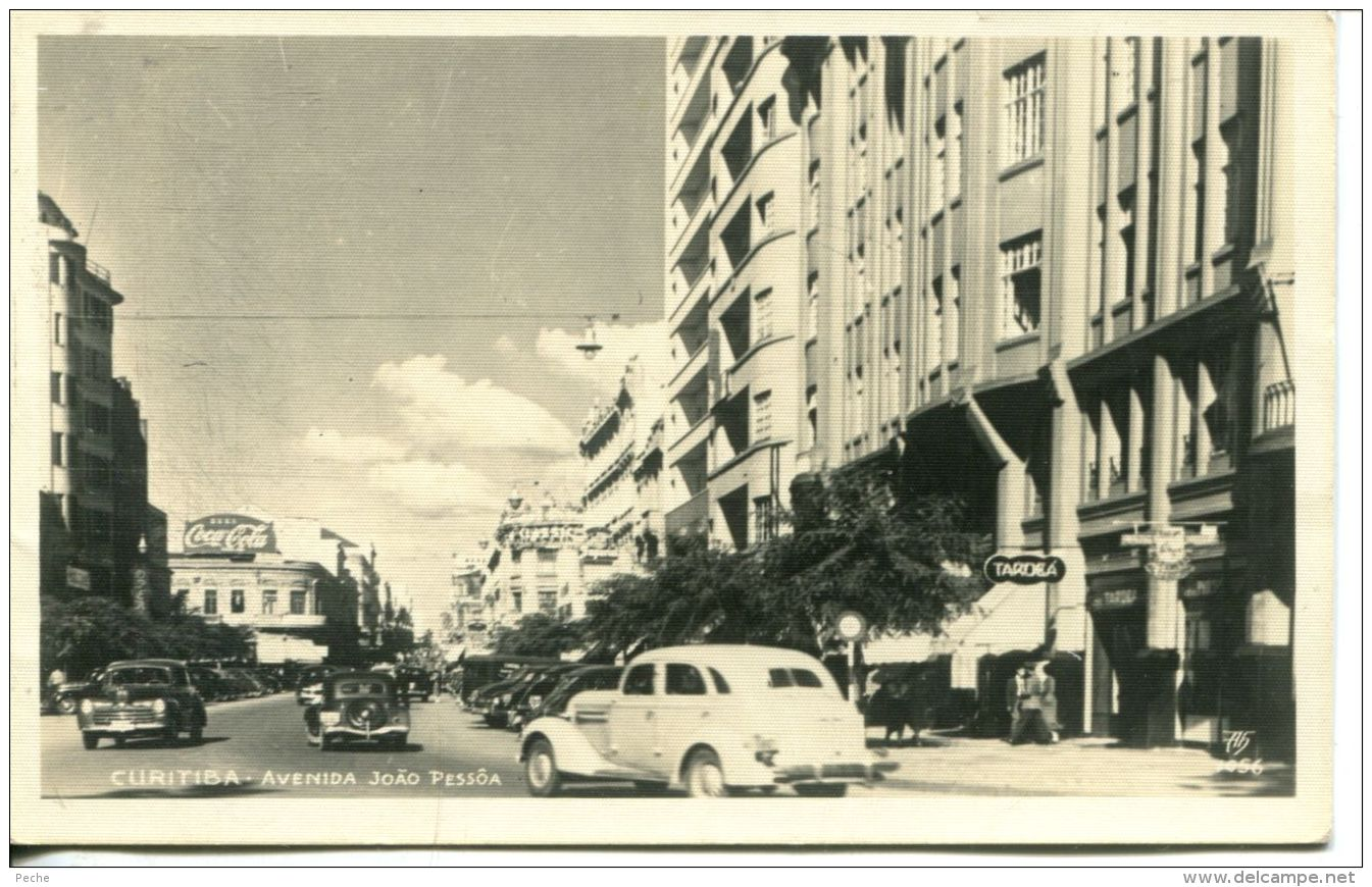 N°54647 -cpa Curitiba -avenida Joao Pessoa- - Curitiba