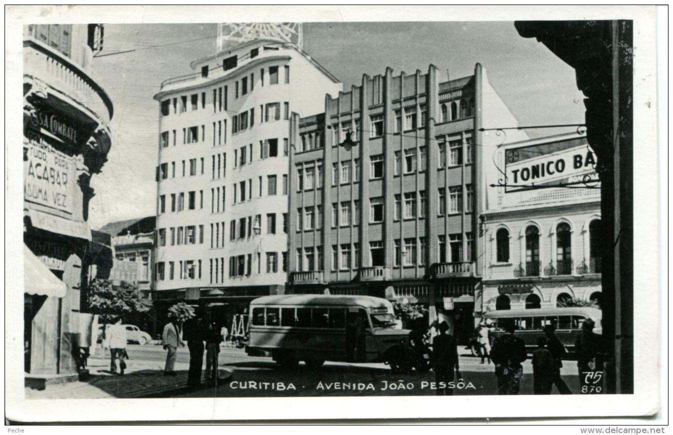 N°54648 -cpa Curitiba -avenida Joao Pessoa- - Curitiba