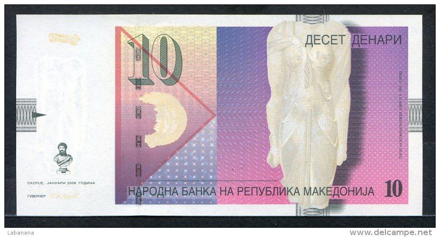438-Macédoine Billet De 10 Denari 2008 EII345 Neuf - Macédoine