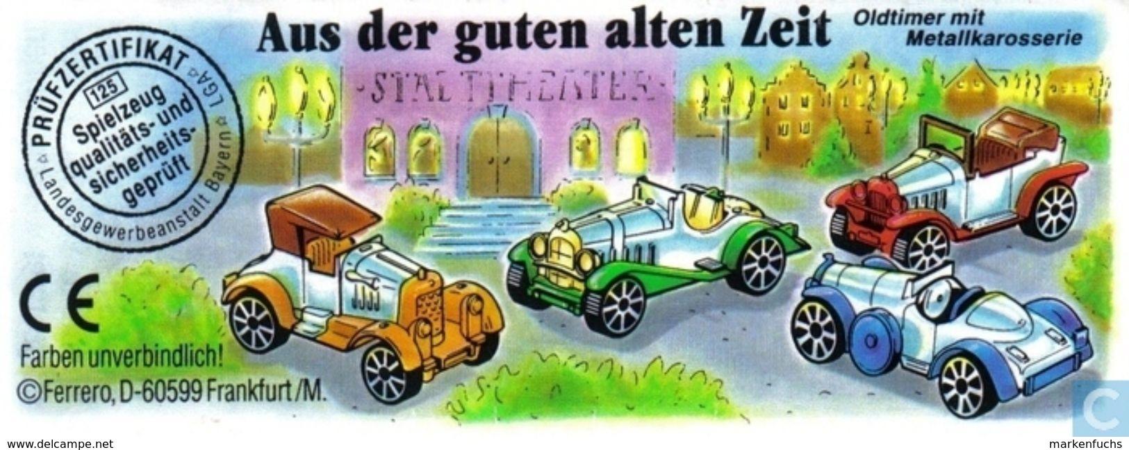 Aus Der Guten Alten Zeit 1998 / Cabriolet + BPZ - Ü-Ei