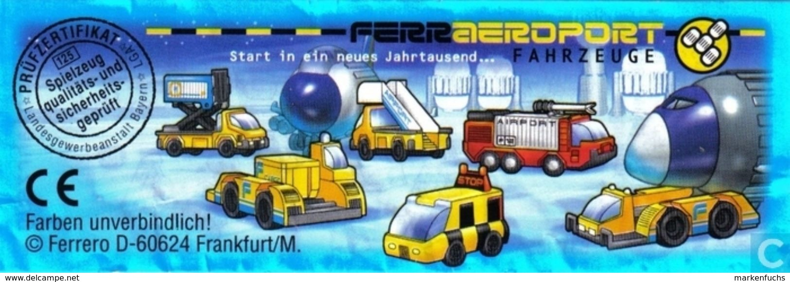 Ferraeroport Fahrzeuge 2000 / Hubcontainer + BPZ - Ü-Ei