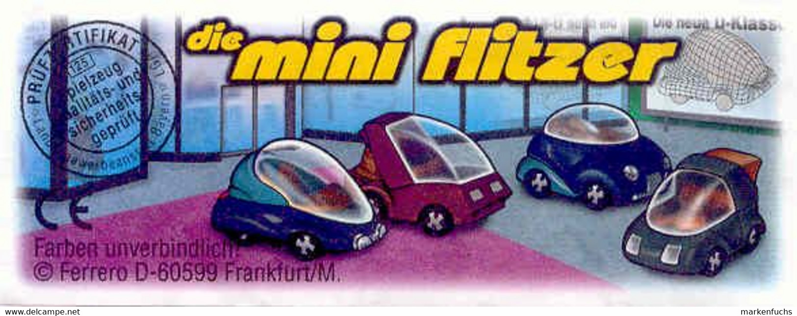 Die Mini Flitzer /  Vision + BPZ - Ü-Ei