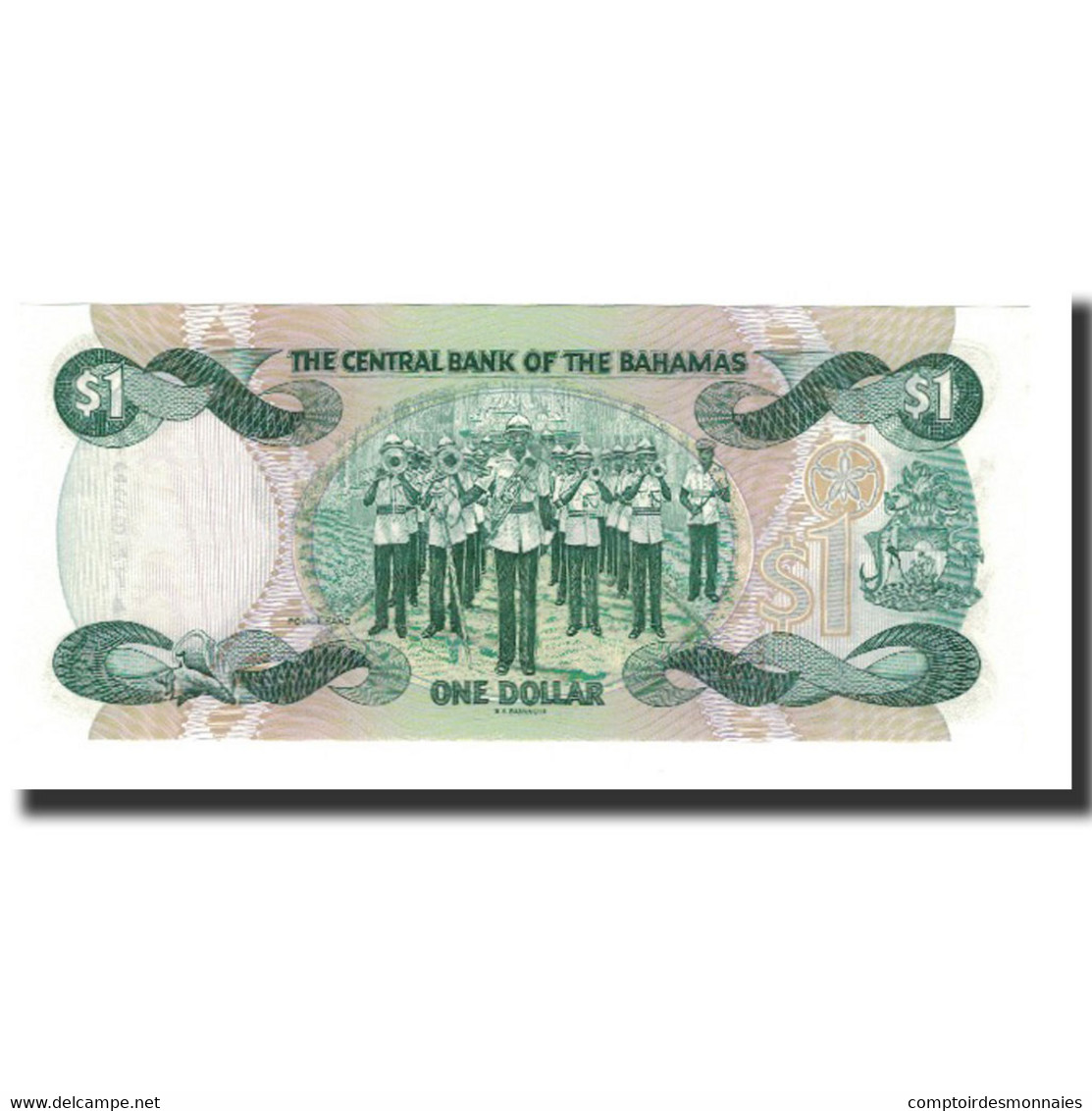 Bahamas, 1 Dollar, L.1974 (1984), KM:43b, NEUF - Bahamas