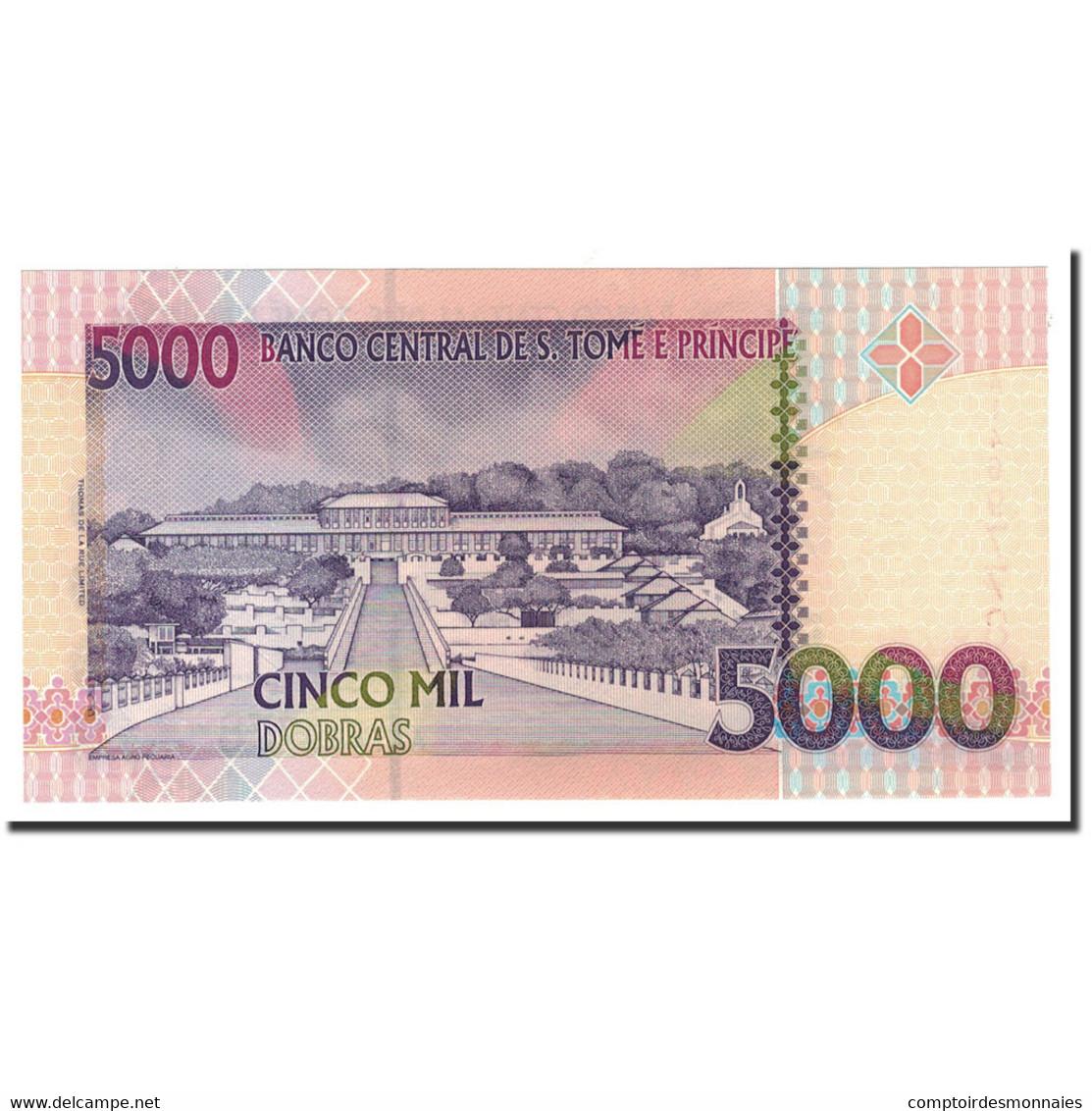 Saint Thomas And Prince, 5000 Dobras, 1996, 1996-10-22, KM:65a, NEUF - Sao Tomé Et Principe