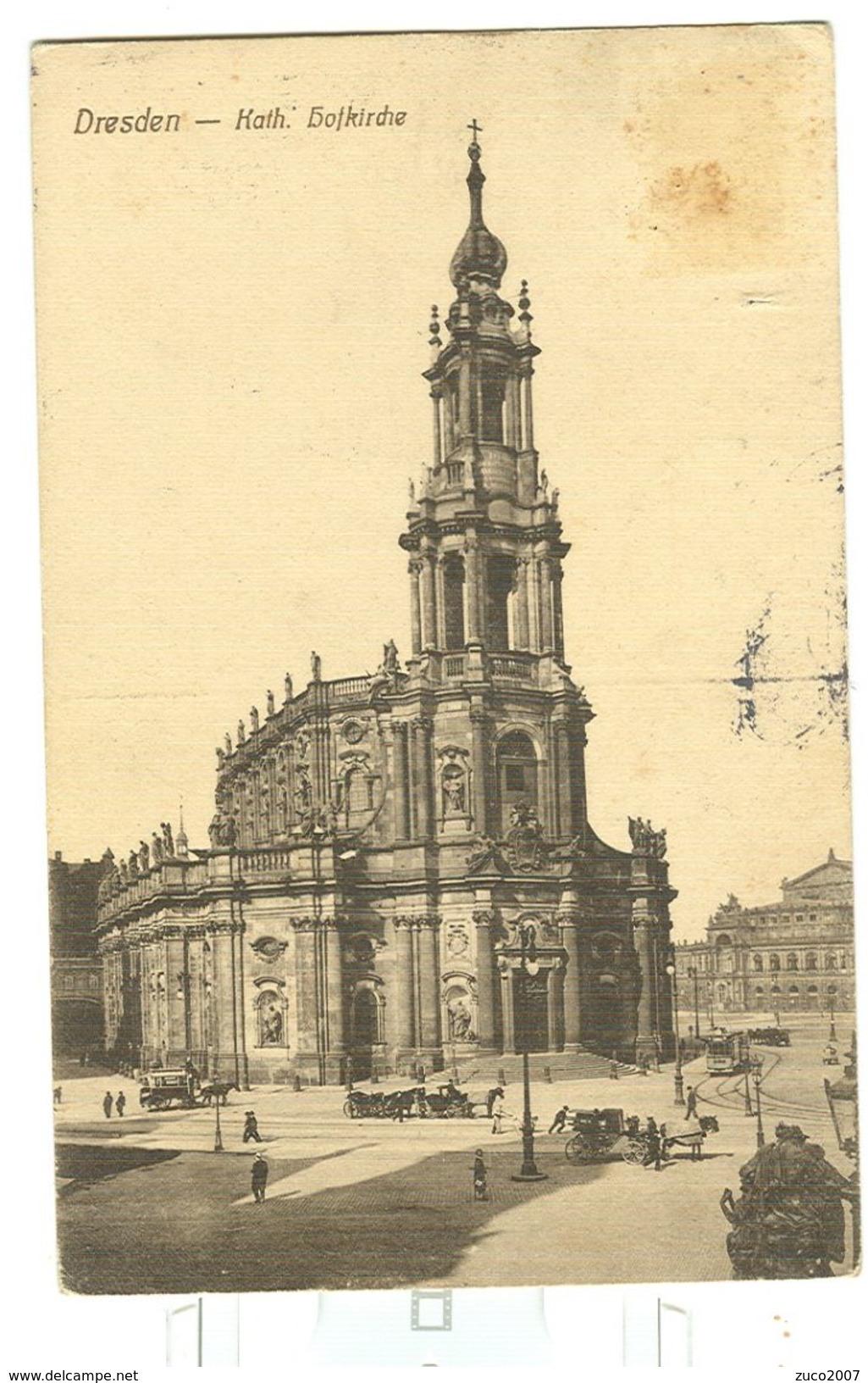 DRESDEN,KATH. - 1912 GENOVA - ITALIA - Dresden