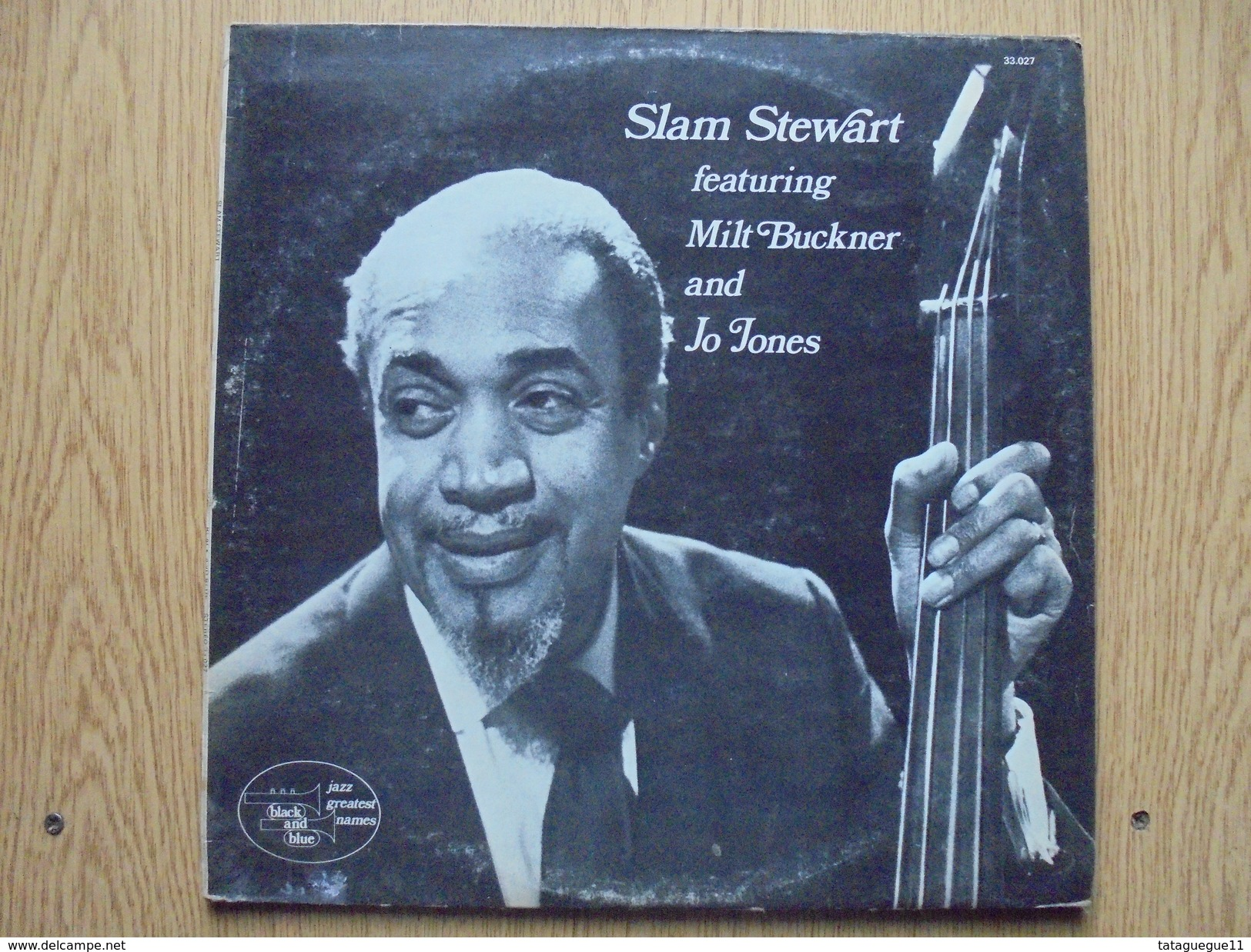 Disque Vinyle 33 Tours SLAM STEWART Featuring Milt Buckner And Jo Jones - Jazz