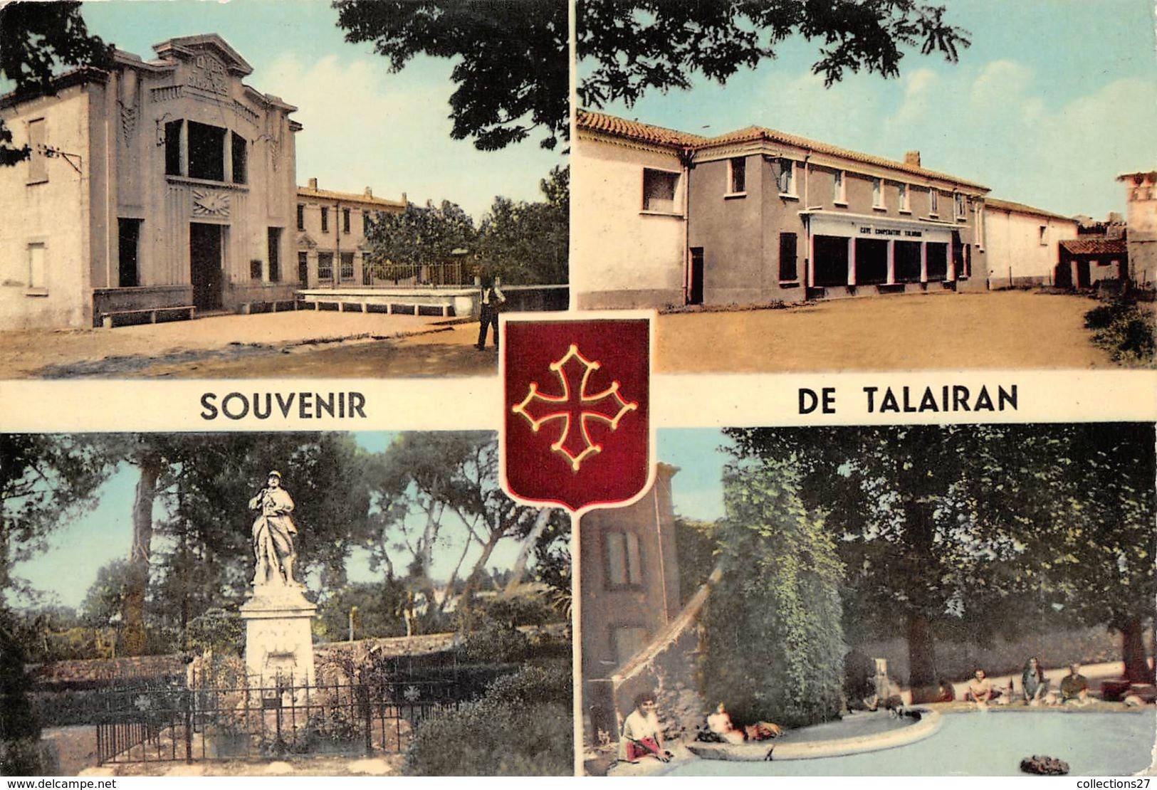11-TALAIRAN  - MULTIVUES - Autres Communes