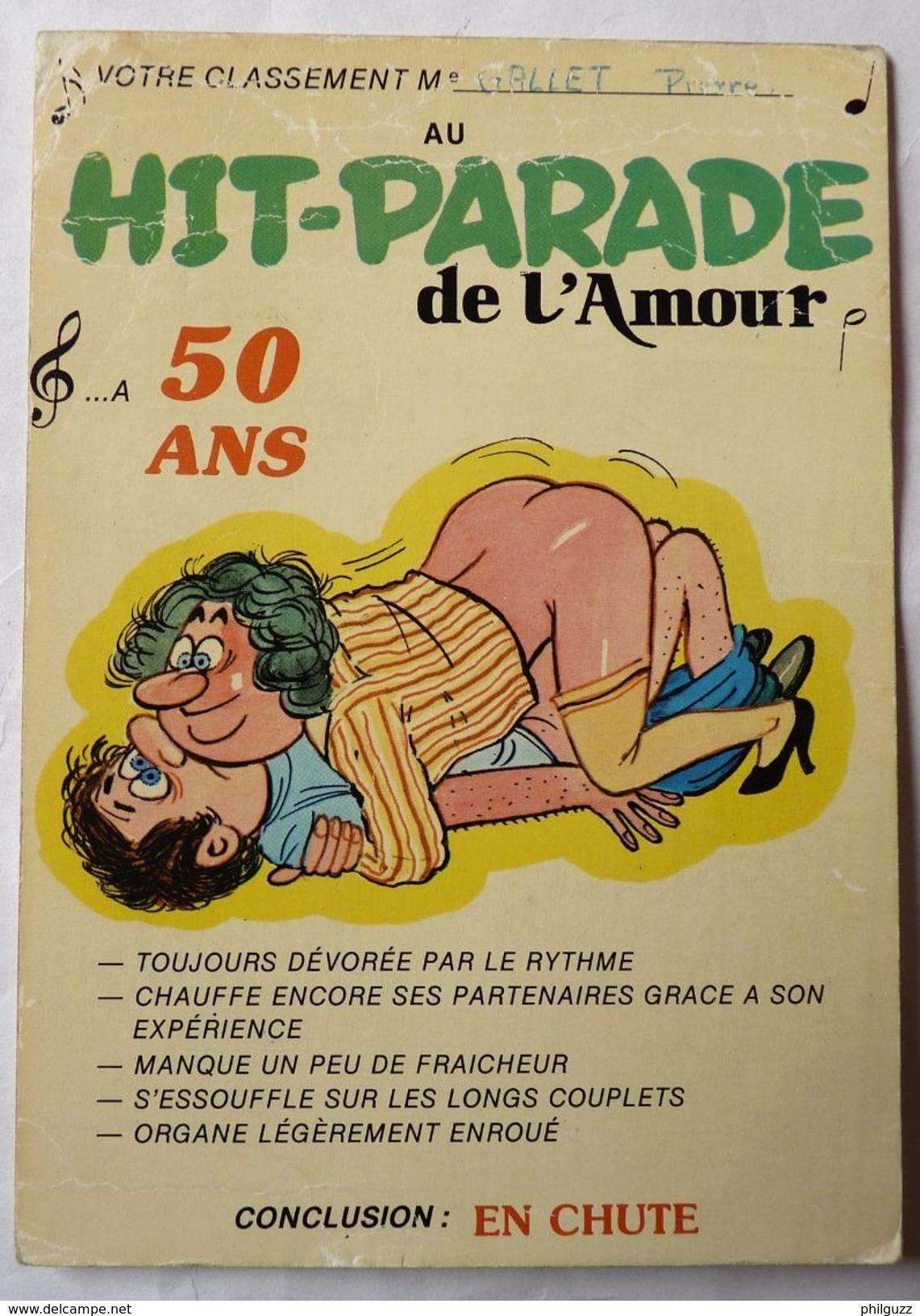 CPM HUMORISTIQUE ILLUSTRATEUR ALEXANDRE - SERIE Hit Parade De L'amour 846-6 CARTE POSTALE EDITIONS LYNA - Alexandre
