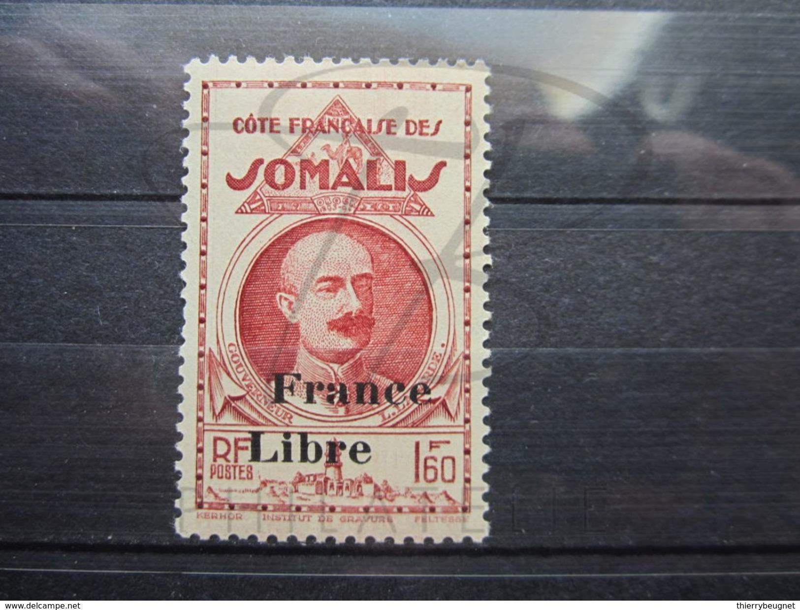 VEND BEAU TIMBRE DE LA COTE FRANCAISE DES SOMALIS N° 224 , X !!! - Neufs