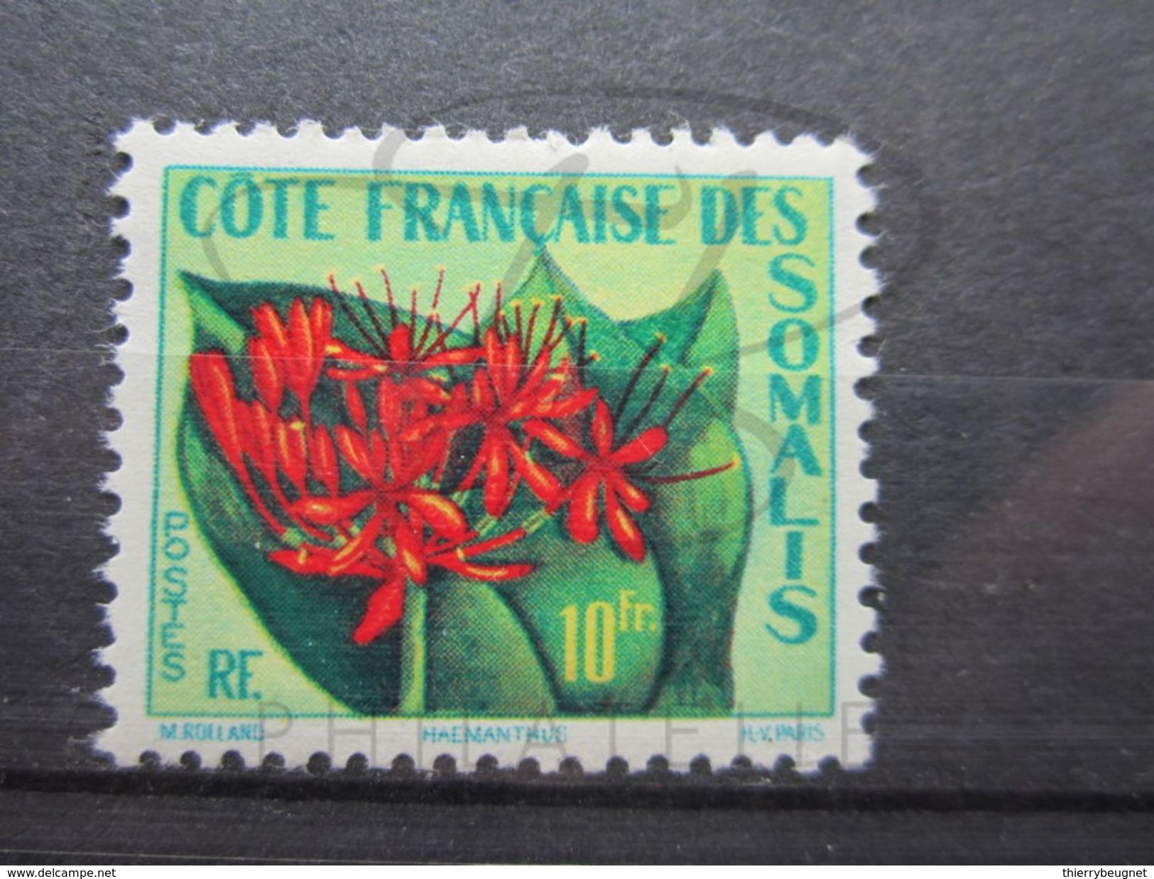 VEND BEAU TIMBRE DE LA COTE FRANCAISE DES SOMALIS N° 290 , X !!! - Neufs