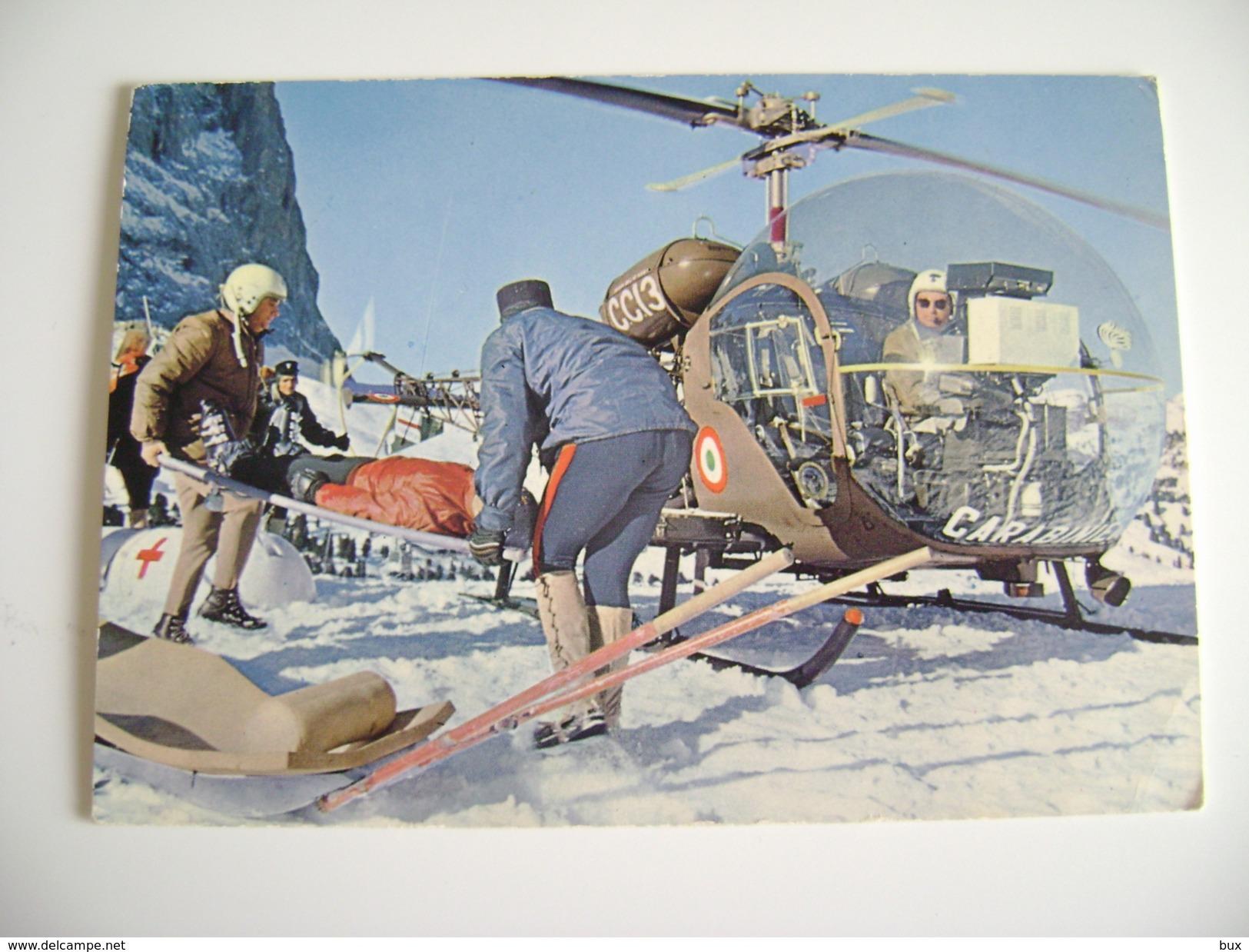 ELICOTTERO     HELYCOPTERE  HELICOPTER   ARMA DEI CARABINIERI  MILITARE CARABINIERE - Elicotteri