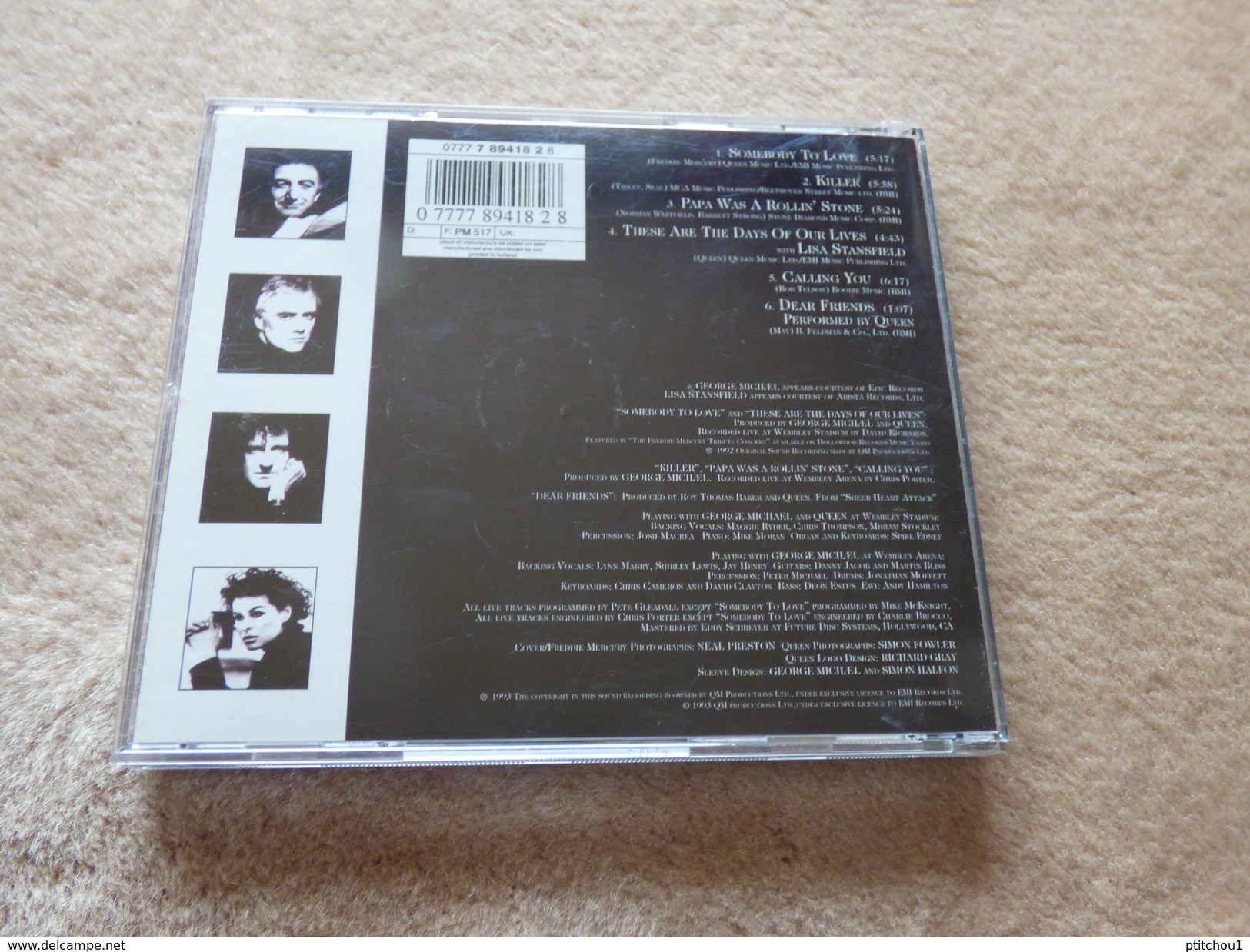 Freddie MERCURY - Musik & Instrumente